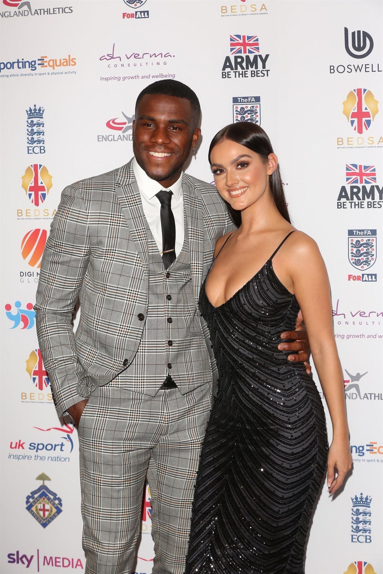 Siannise Fudge & Luke Trotman Are Seen At British Ethnic Diversity Sports Awards 0057