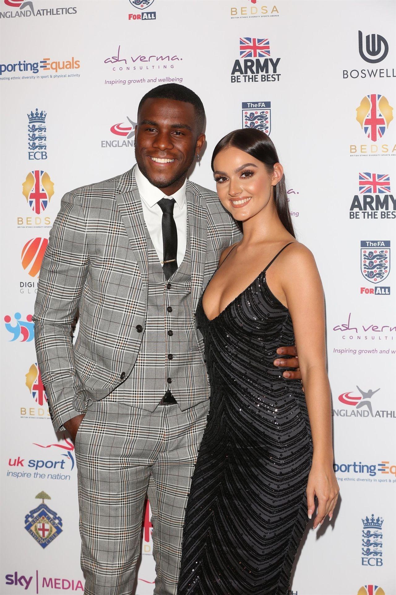Siannise Fudge & Luke Trotman Are Seen At British Ethnic Diversity Sports Awards 0058