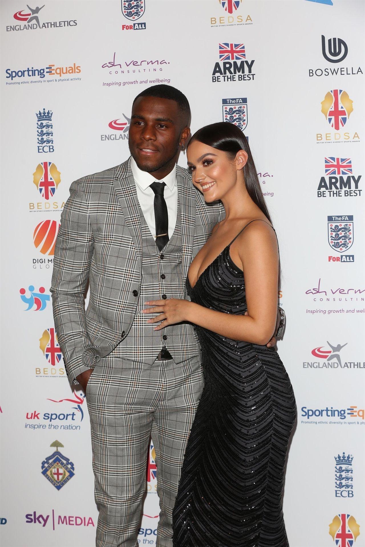 Siannise Fudge & Luke Trotman Are Seen At British Ethnic Diversity Sports Awards 0059