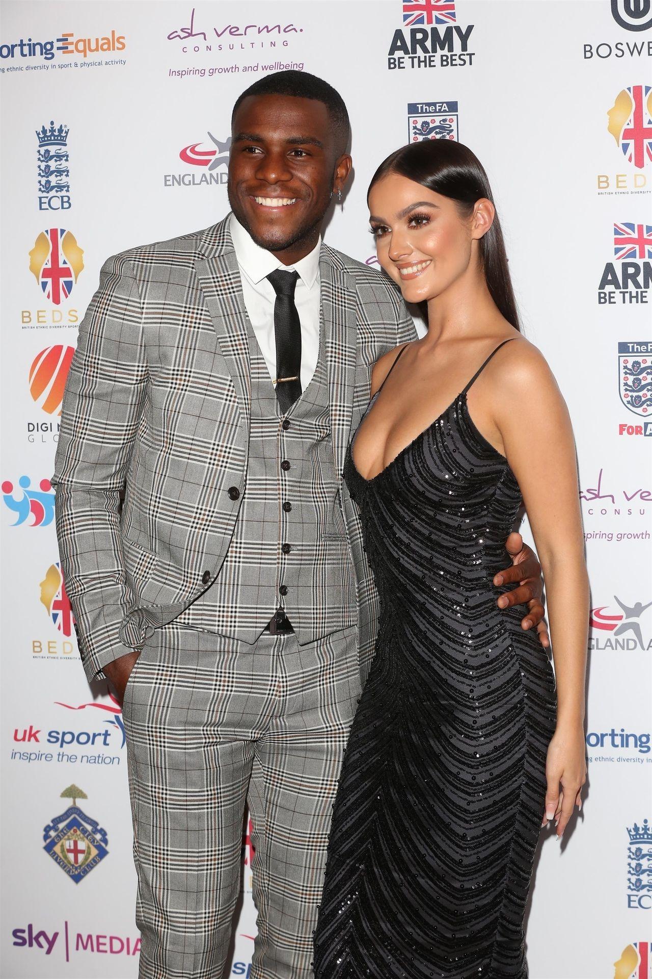 Siannise Fudge & Luke Trotman Are Seen At British Ethnic Diversity Sports Awards 0060