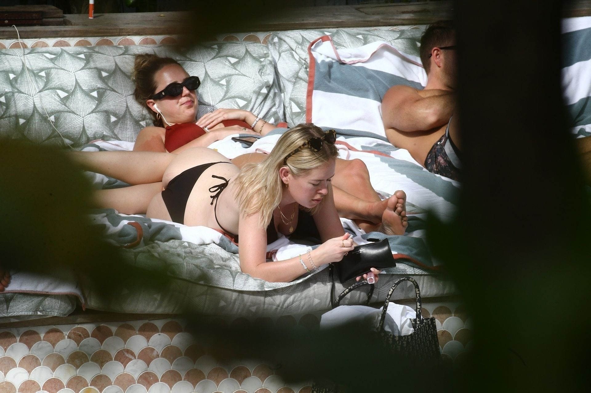 Tanya Burr Shows Off Her Figure In A Bikini 0020