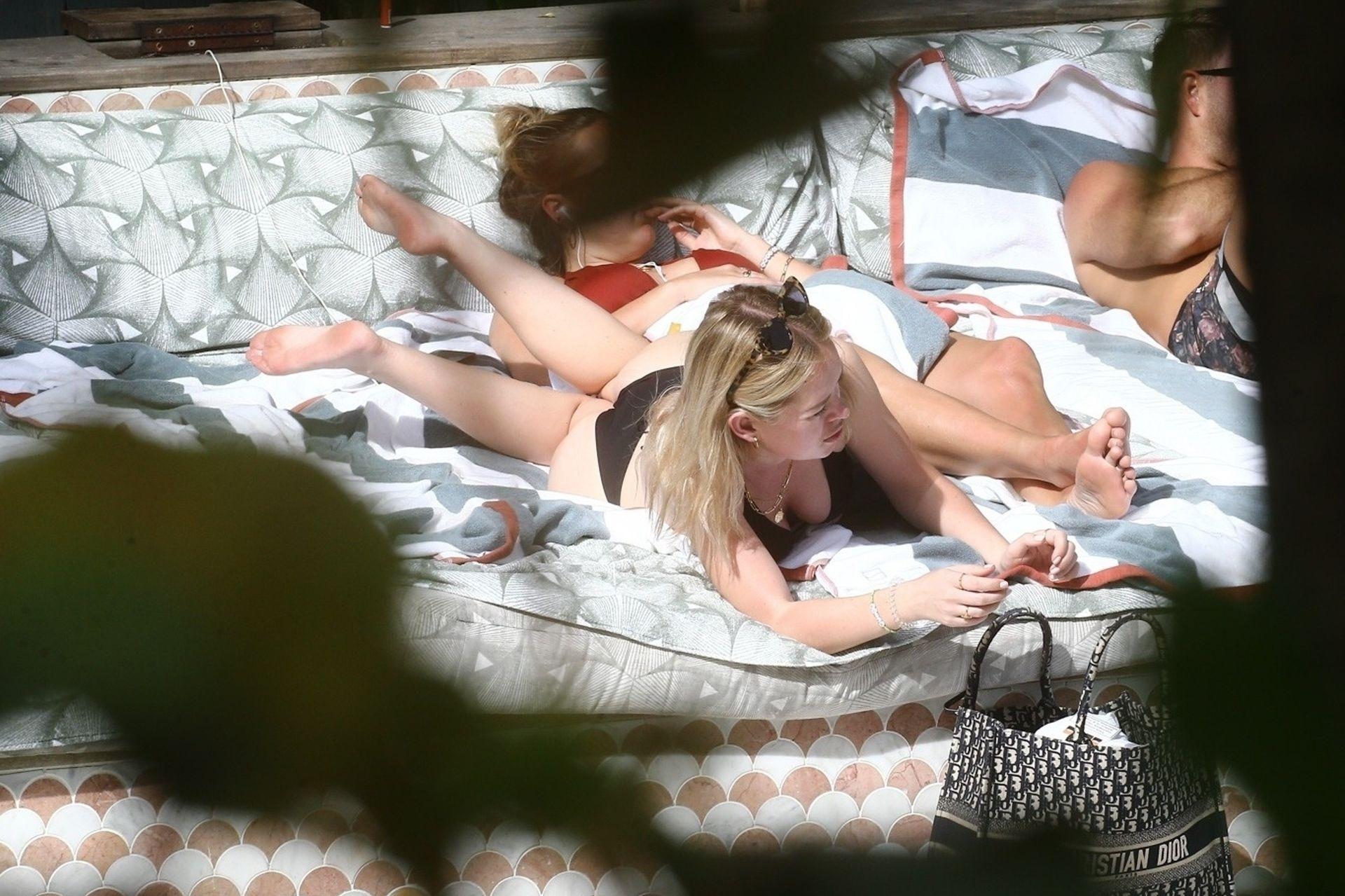 Tanya Burr Shows Off Her Figure In A Bikini 0021