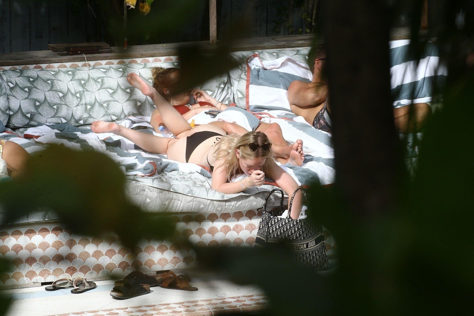 Tanya Burr Shows Off Her Figure In A Bikini 0022