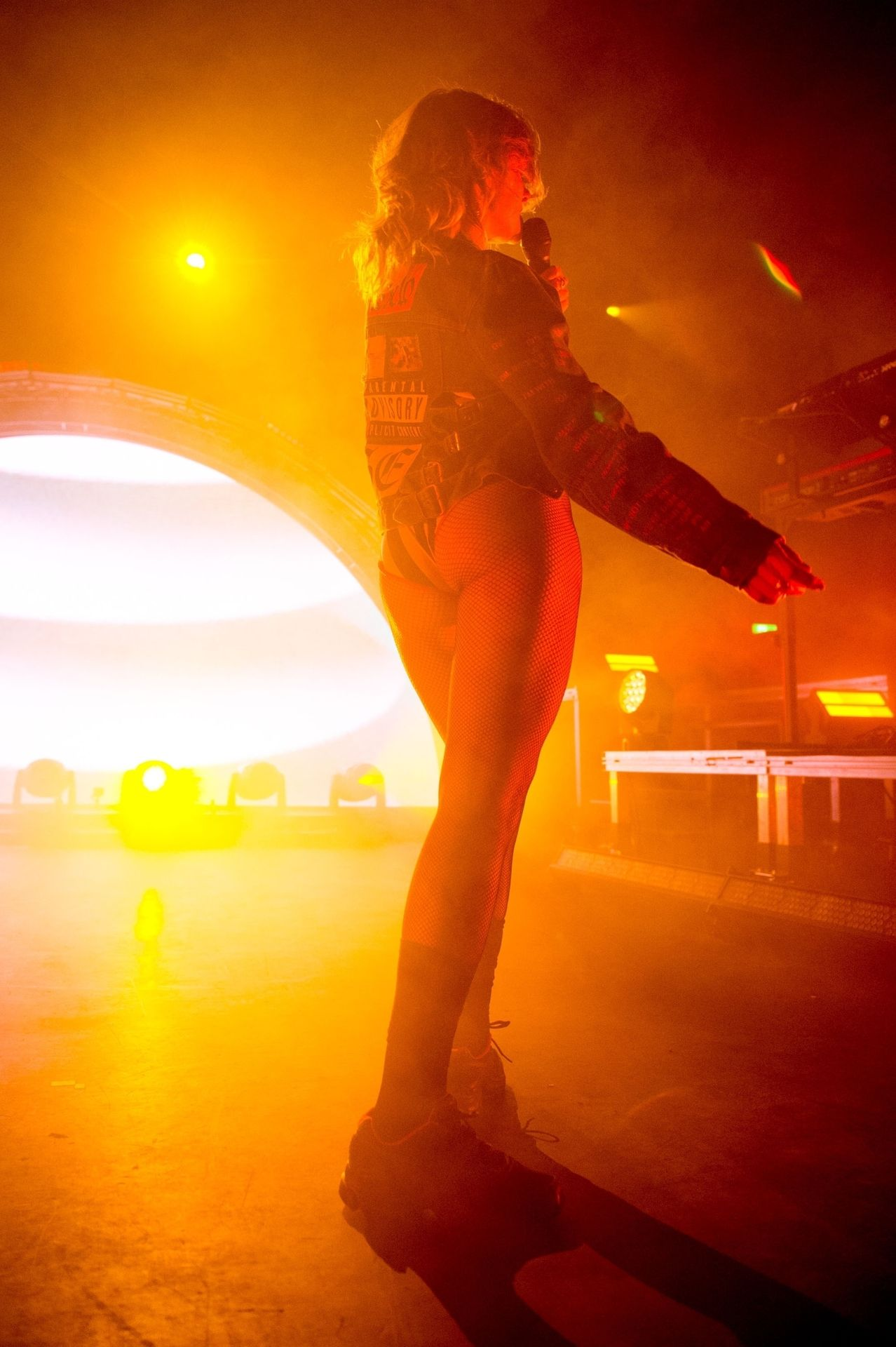 Tove Lo Is In Concert Performing Live At O2 Forum Kentish Town In London 0004