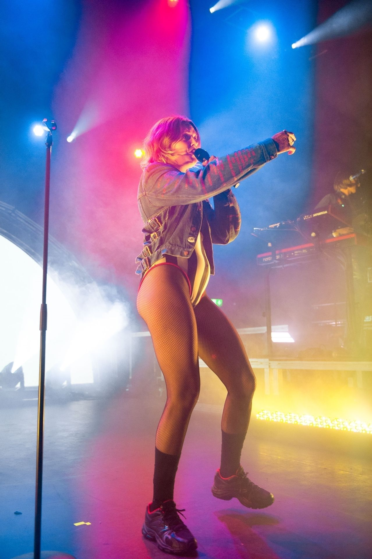 Tove Lo Is In Concert Performing Live At O2 Forum Kentish Town In London 0034
