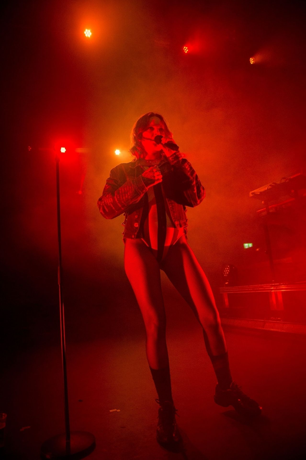 Tove Lo Is In Concert Performing Live At O2 Forum Kentish Town In London 0042