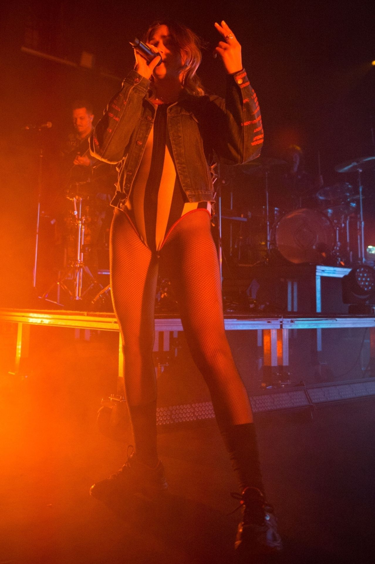 Tove Lo Is In Concert Performing Live At O2 Forum Kentish Town In London 0048