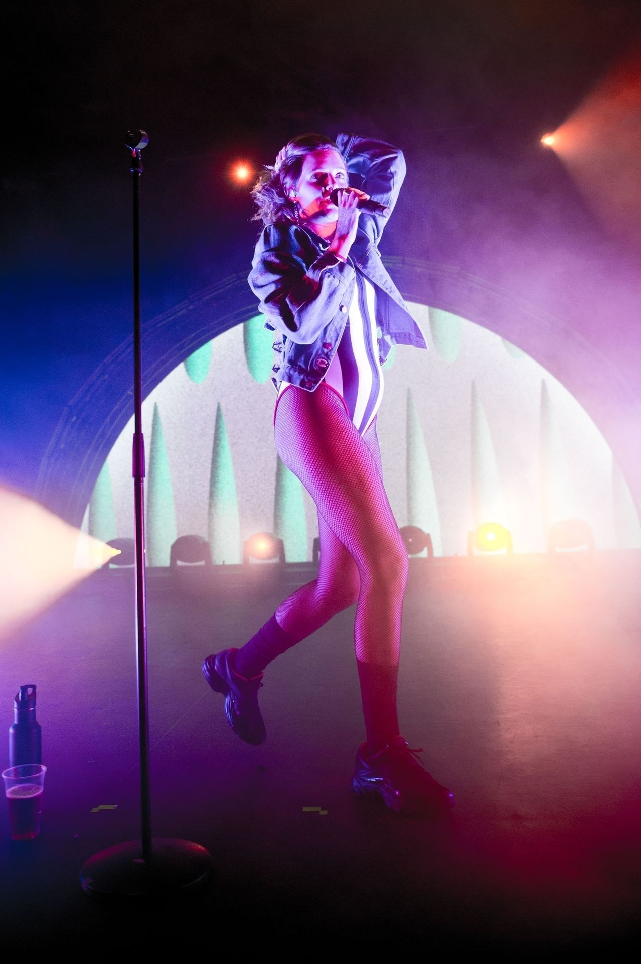 Tove Lo Is In Concert Performing Live At O2 Forum Kentish Town In London 0056