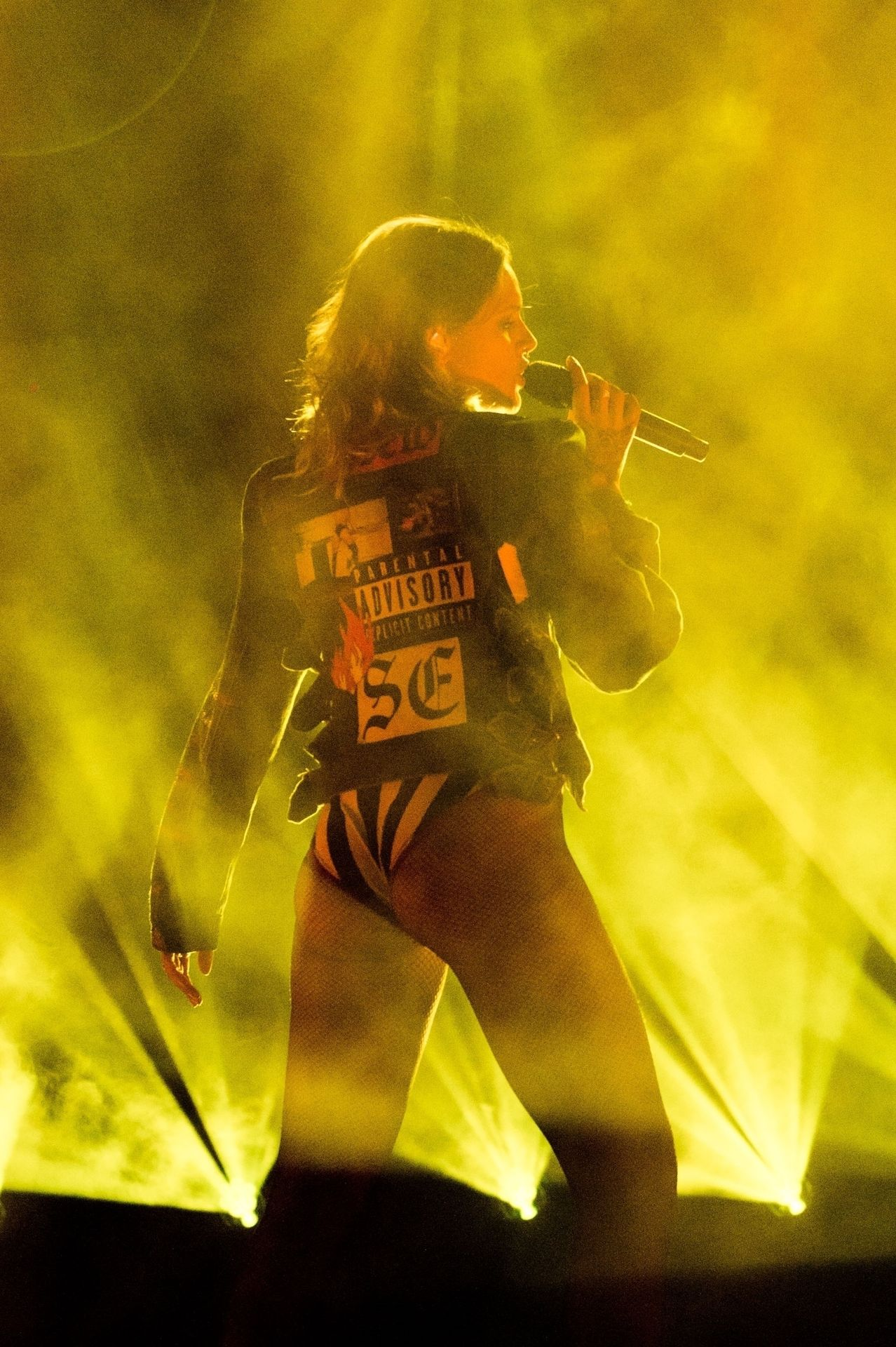 Tove Lo Is In Concert Performing Live At O2 Forum Kentish Town In London 0060