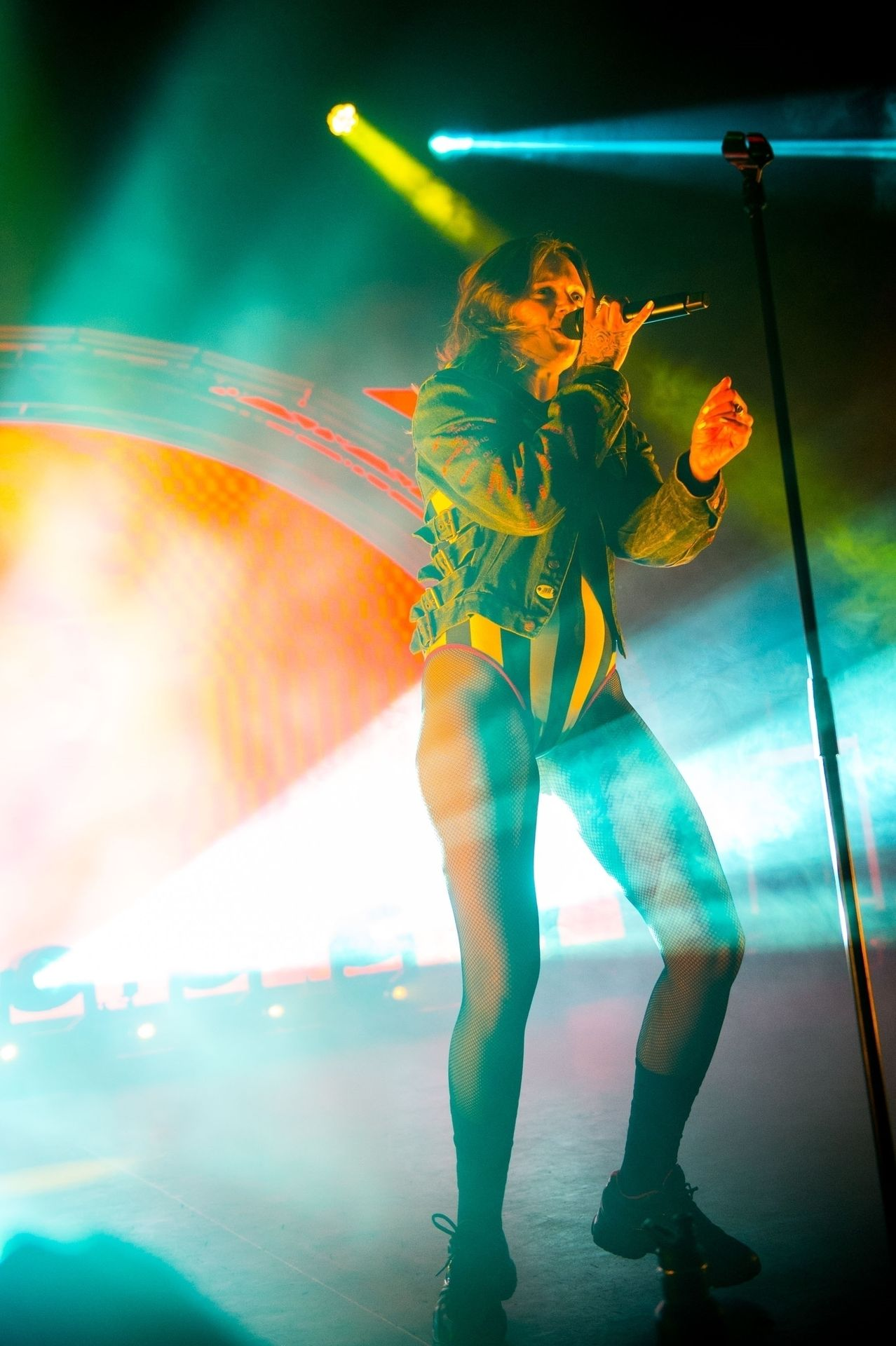 Tove Lo Is In Concert Performing Live At O2 Forum Kentish Town In London 0076