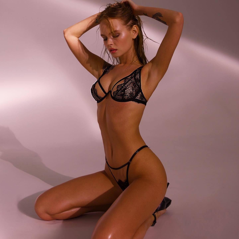 Anastasiya Scheglova – Hot Body In See Through Lingerie For God Save Queen Campaign 2020 (nsfw) 0005