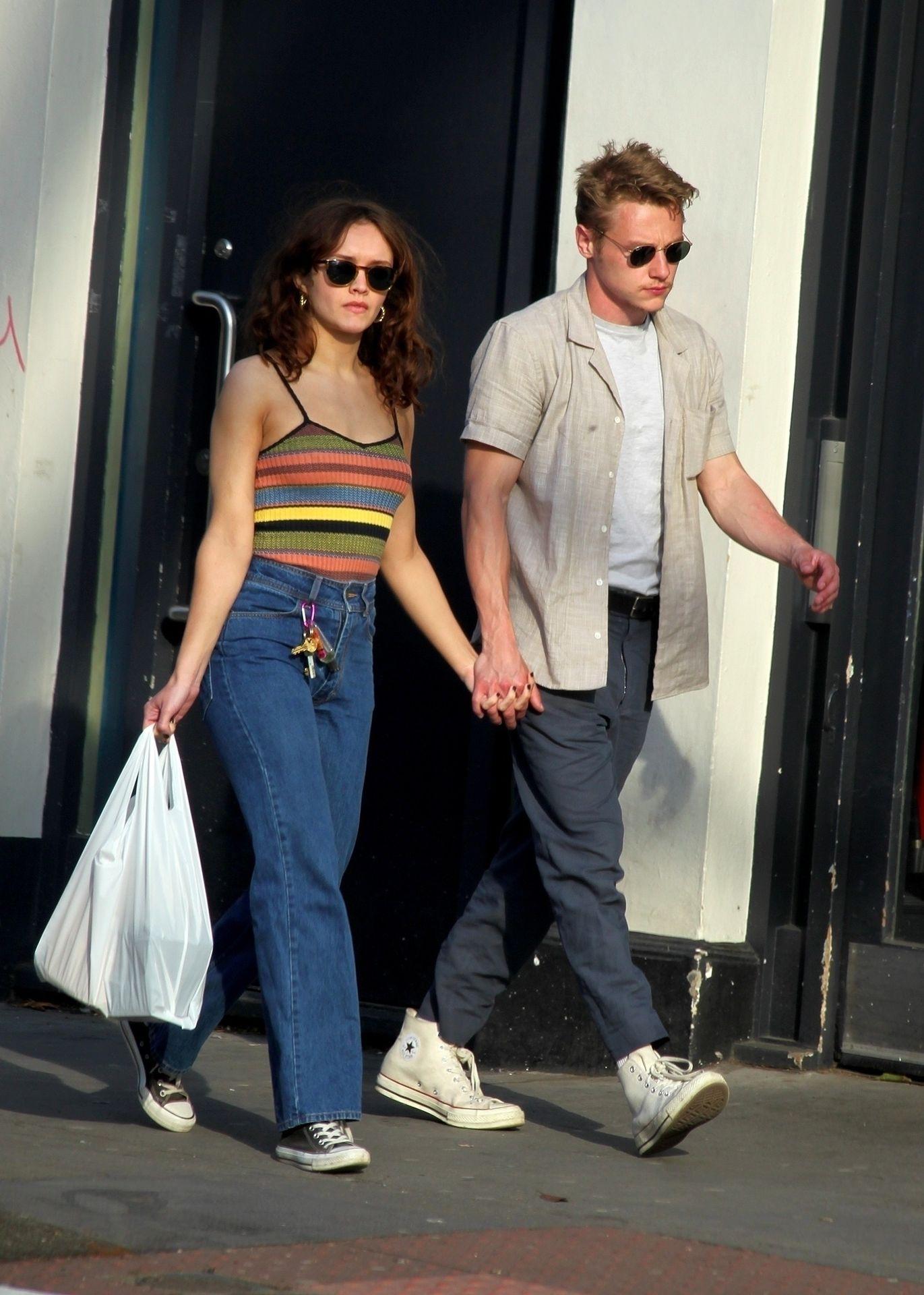 Ben Hardy Walks Hand In Hand With Actress Girlfriend Olivia Cooke 0001