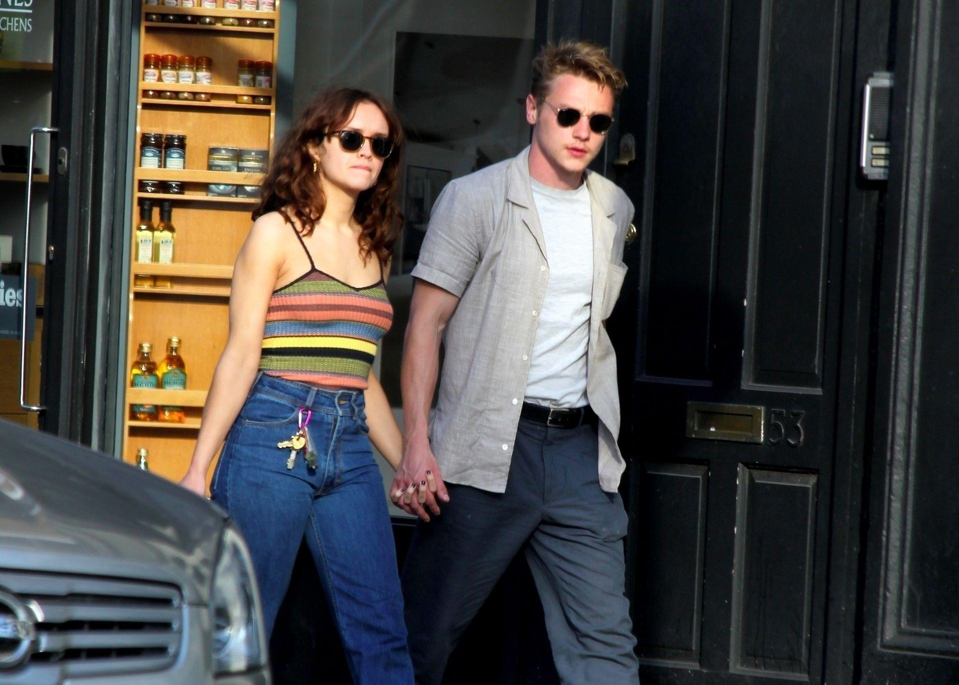 Ben Hardy Walks Hand In Hand With Actress Girlfriend Olivia Cooke 0002