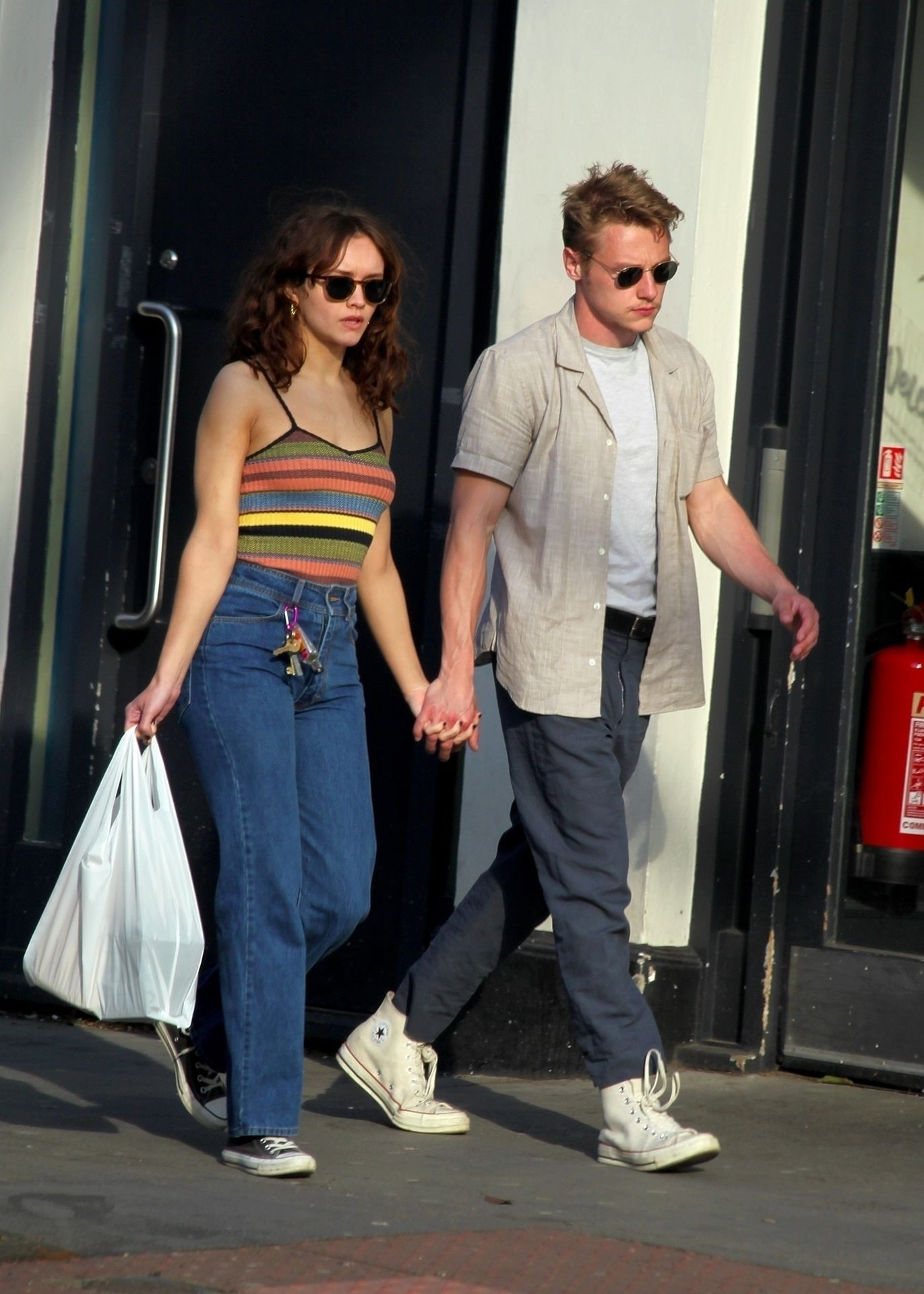 Ben Hardy Walks Hand In Hand With Actress Girlfriend Olivia Cooke 0003
