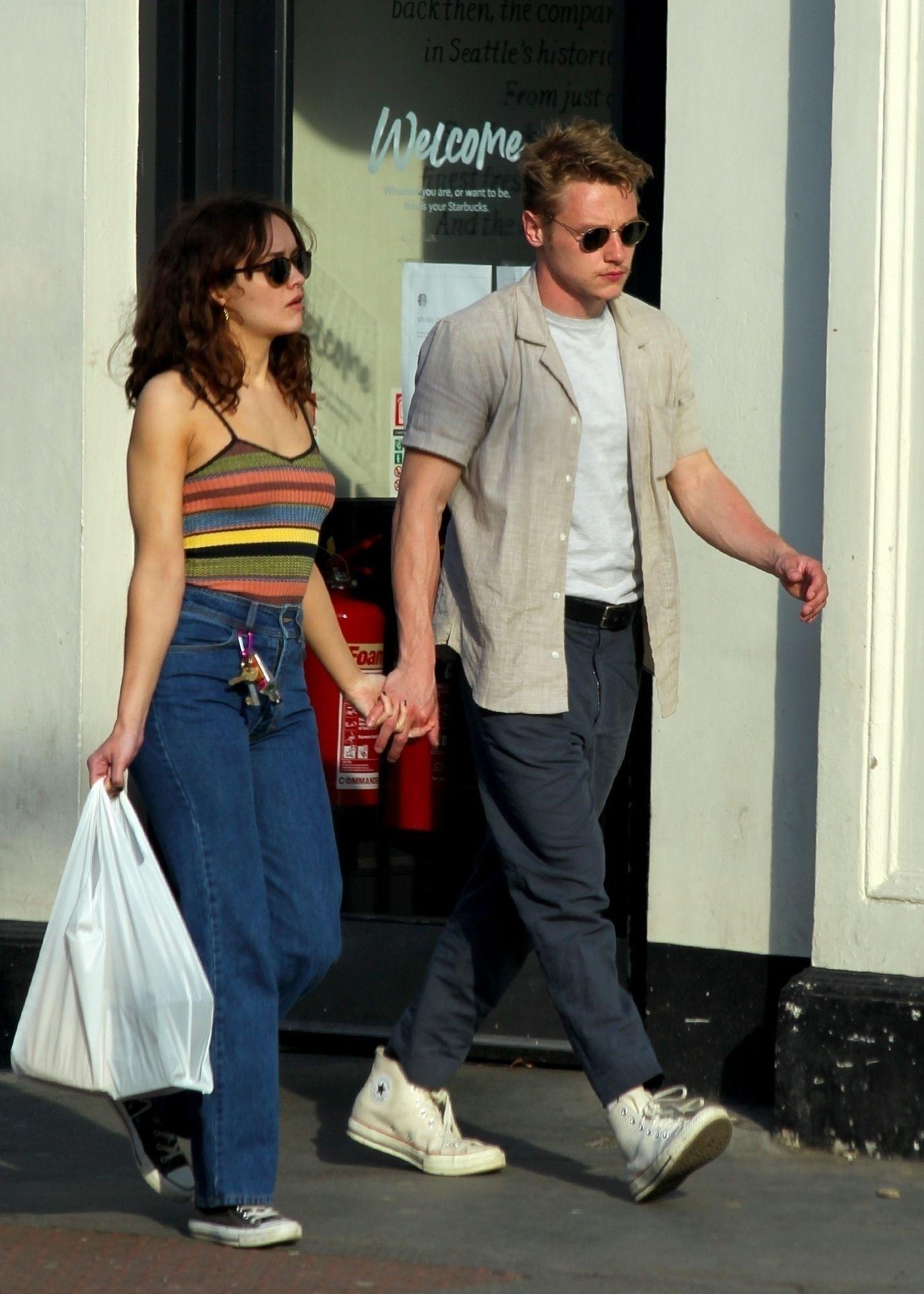 Ben Hardy Walks Hand In Hand With Actress Girlfriend Olivia Cooke 0004
