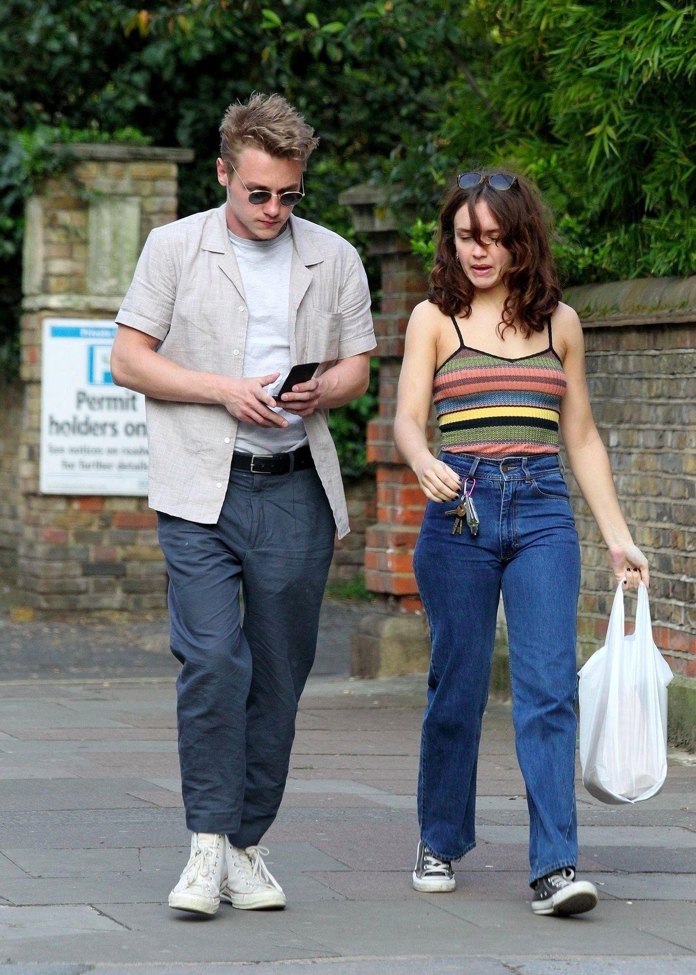 Ben Hardy Walks Hand In Hand With Actress Girlfriend Olivia Cooke 0005