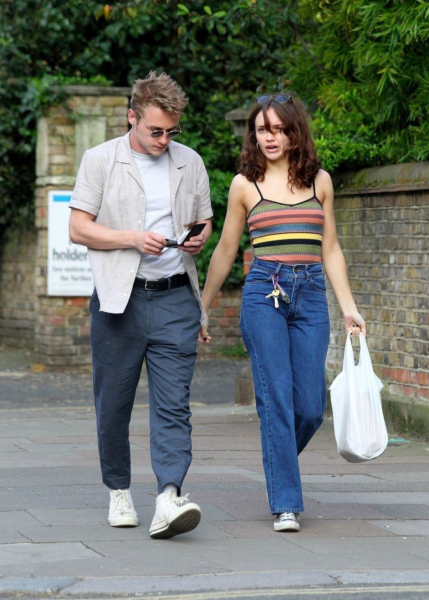 Ben Hardy Walks Hand In Hand With Actress Girlfriend Olivia Cooke 0006