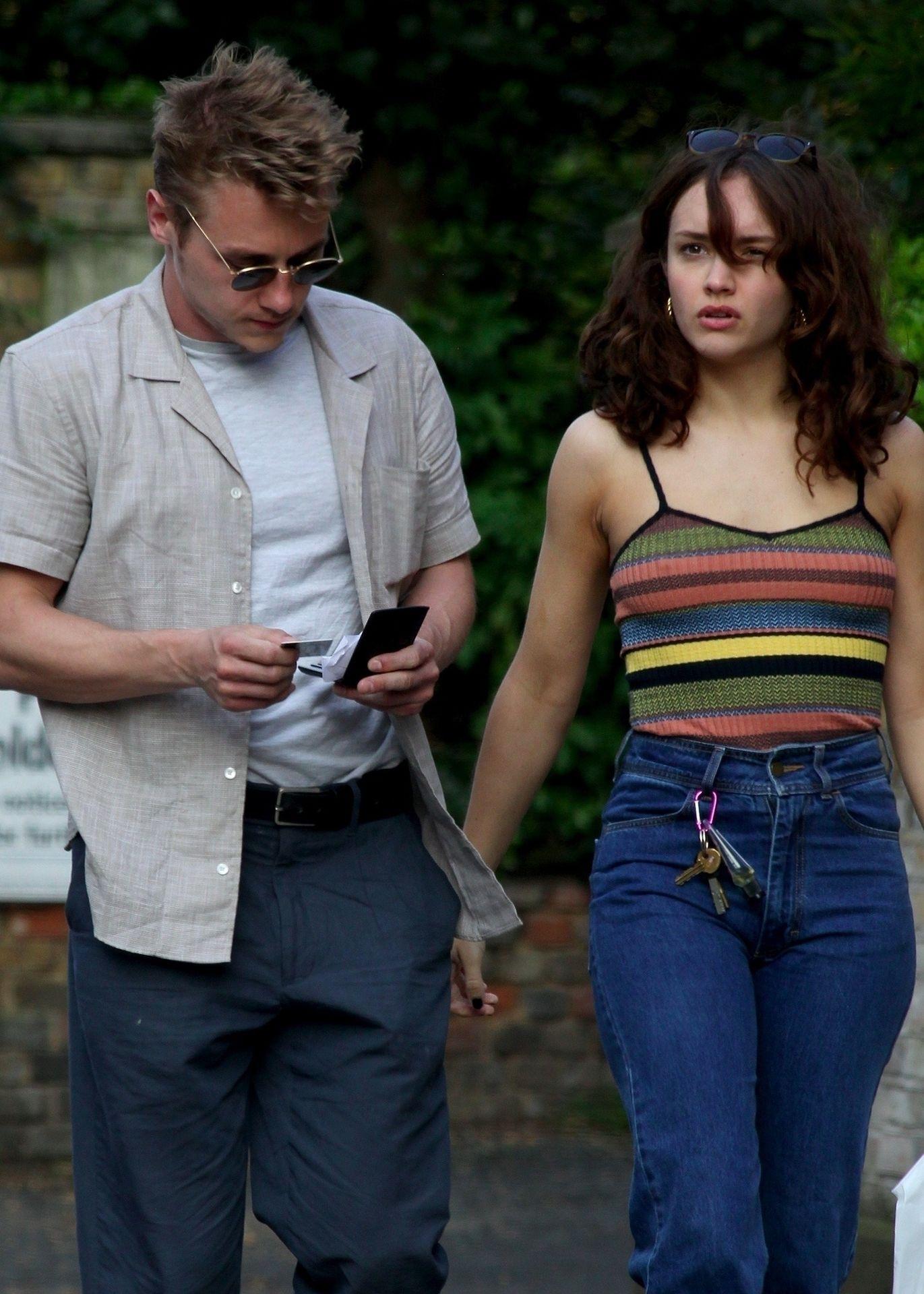 Ben Hardy Walks Hand In Hand With Actress Girlfriend Olivia Cooke 0007