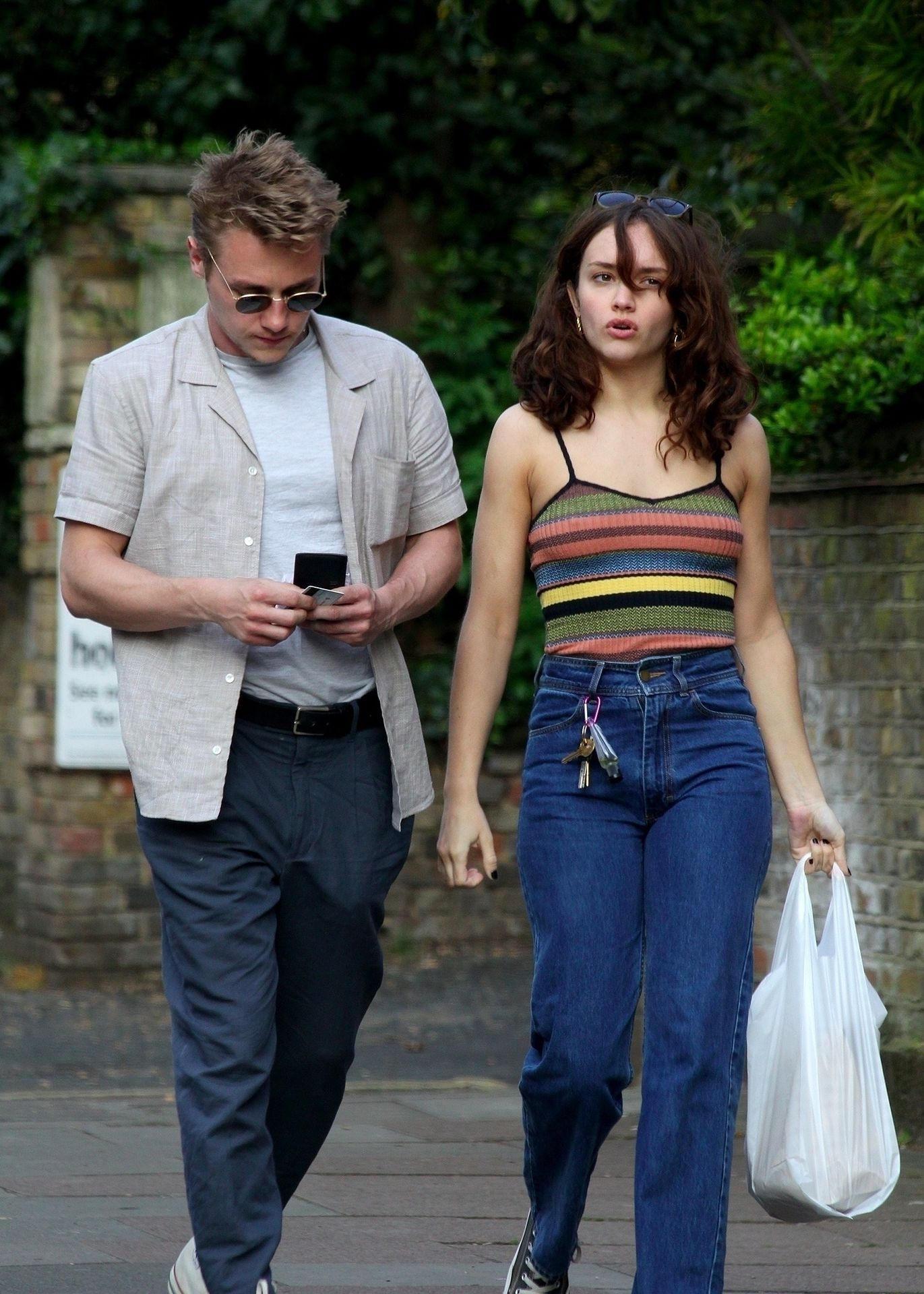 Ben Hardy Walks Hand In Hand With Actress Girlfriend Olivia Cooke 0009