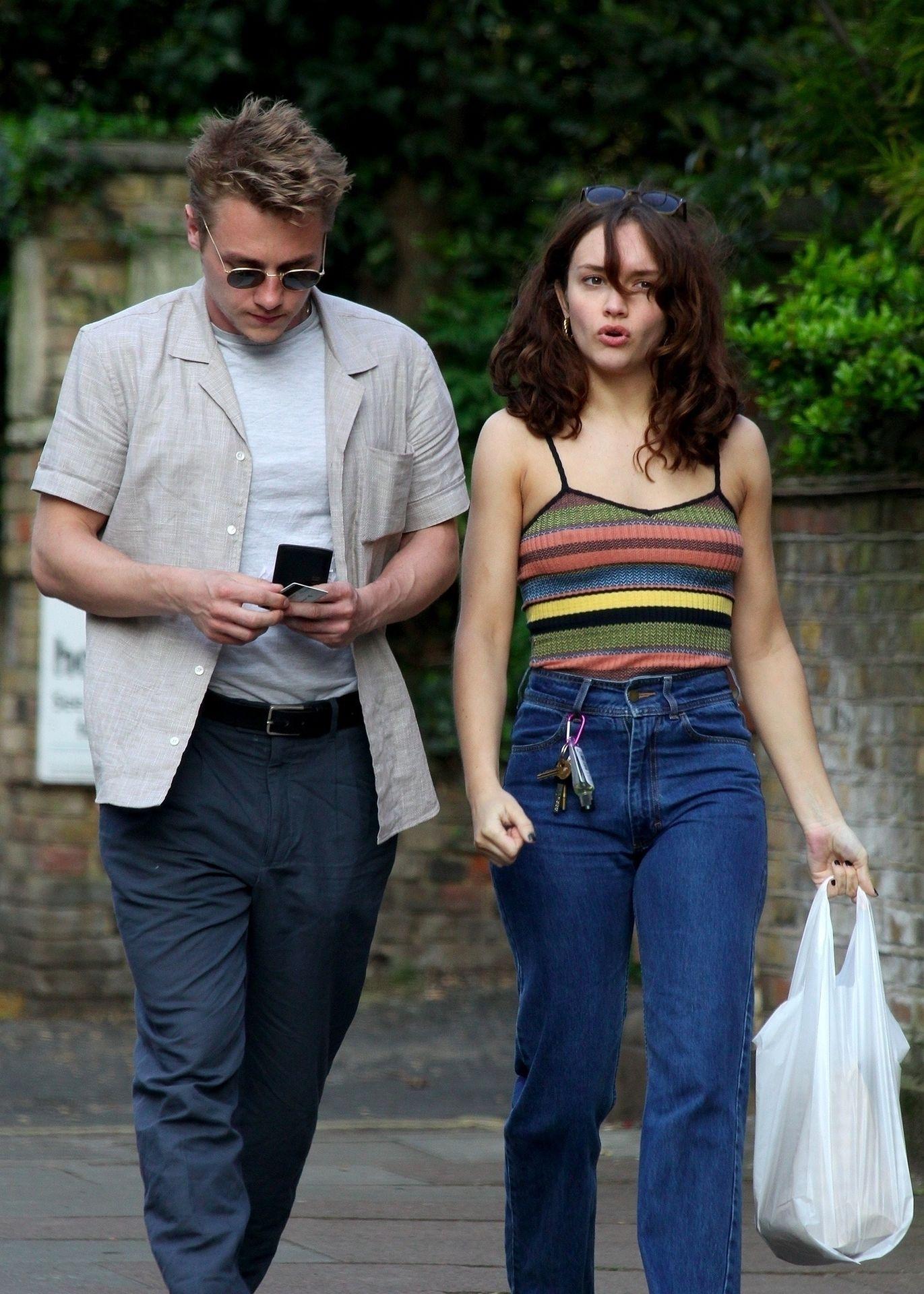 Ben Hardy Walks Hand In Hand With Actress Girlfriend Olivia Cooke 0011