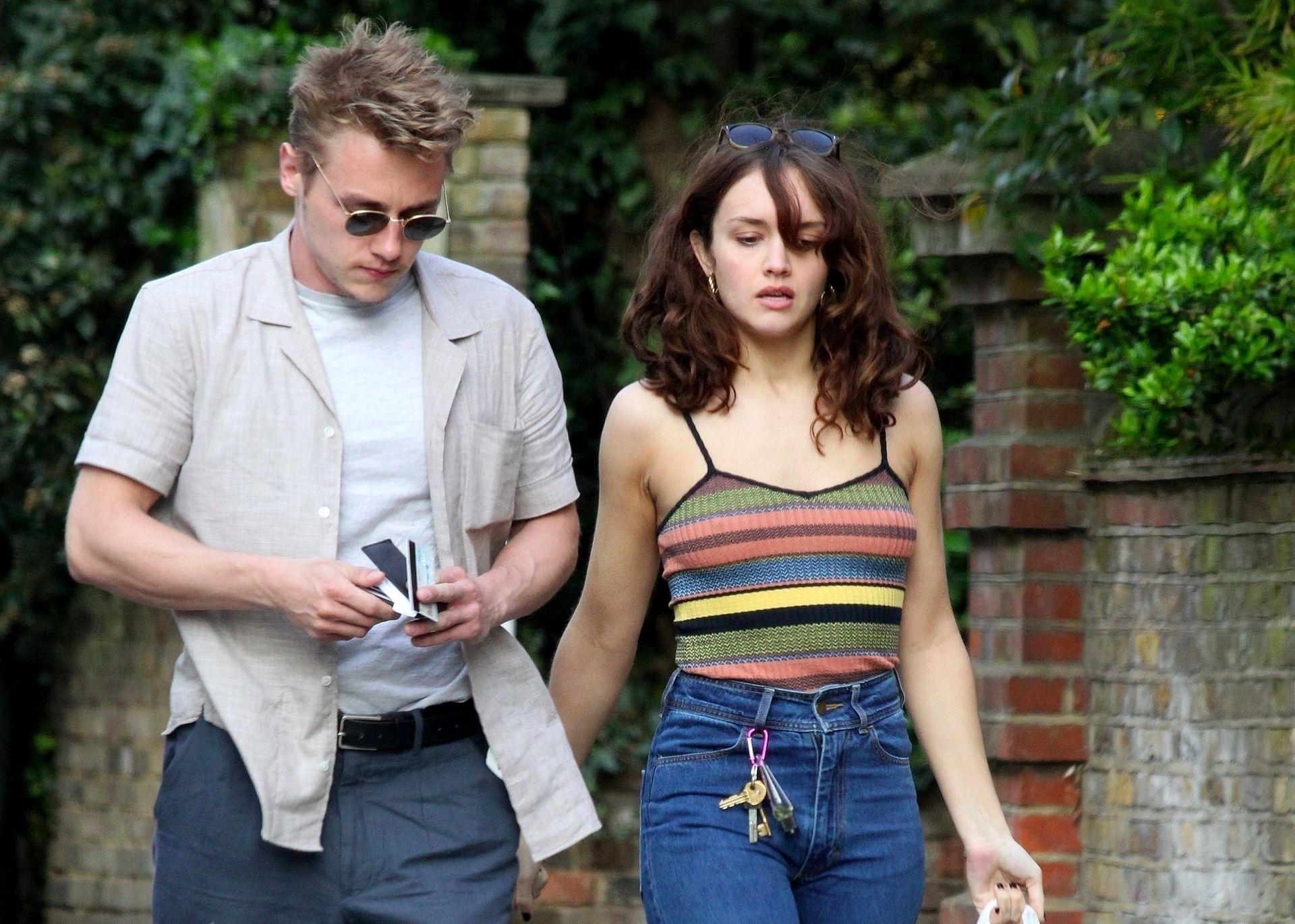 Ben Hardy Walks Hand In Hand With Actress Girlfriend Olivia Cooke 0016