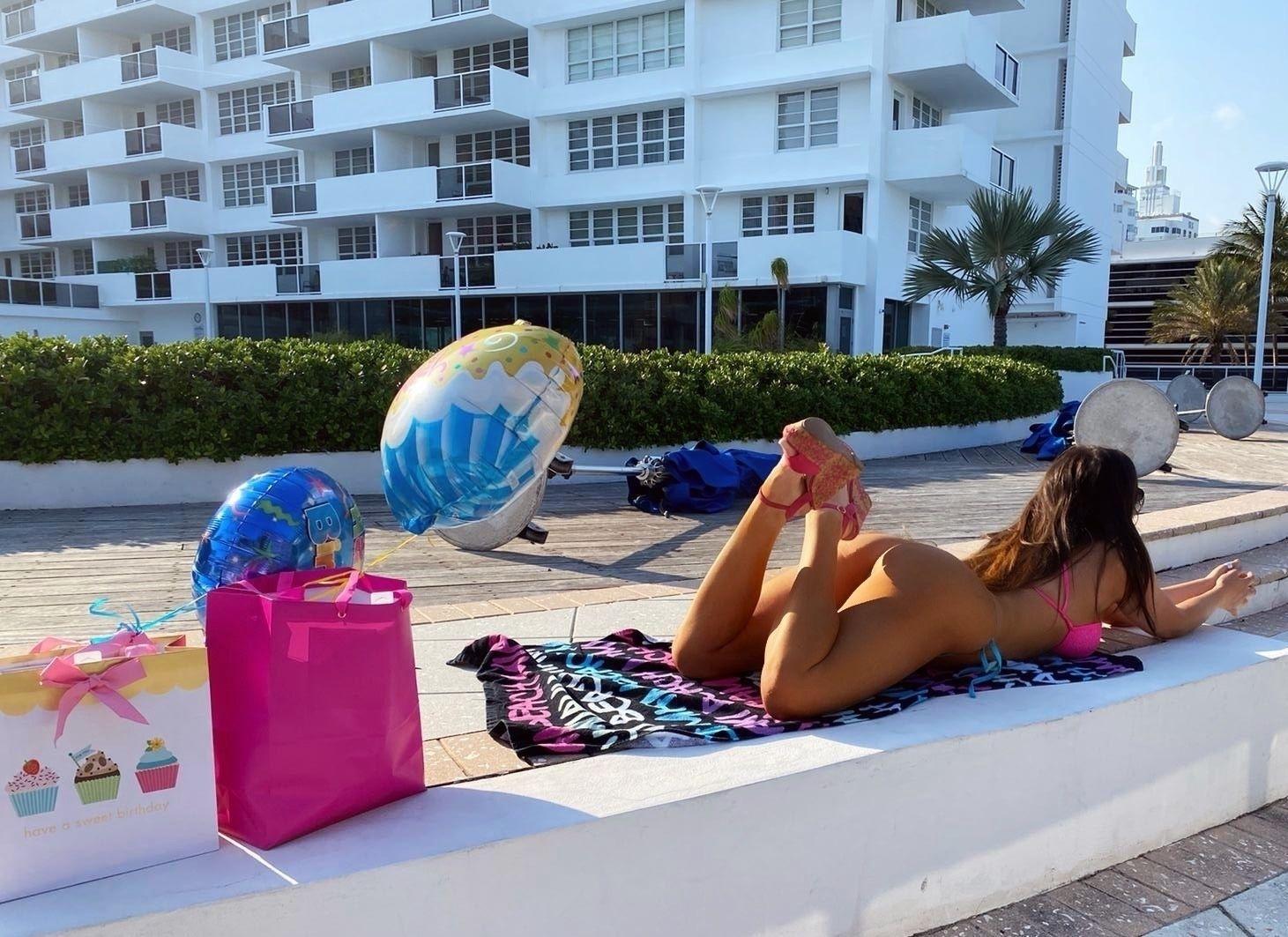 Claudia Romani Celebrates Her Birthday 0002
