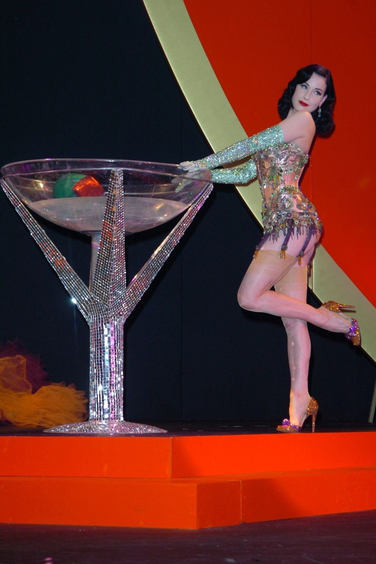 Dita Von Teese Performs At Erotica 06 In London 0015