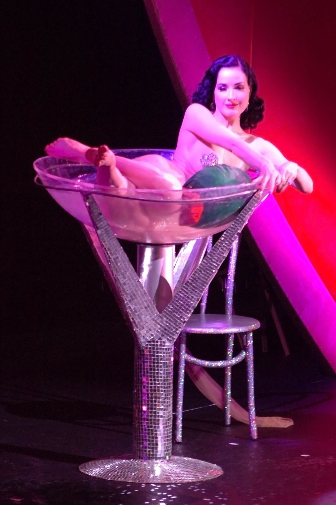 Dita Von Teese Performs At Erotica 06 In London 0025