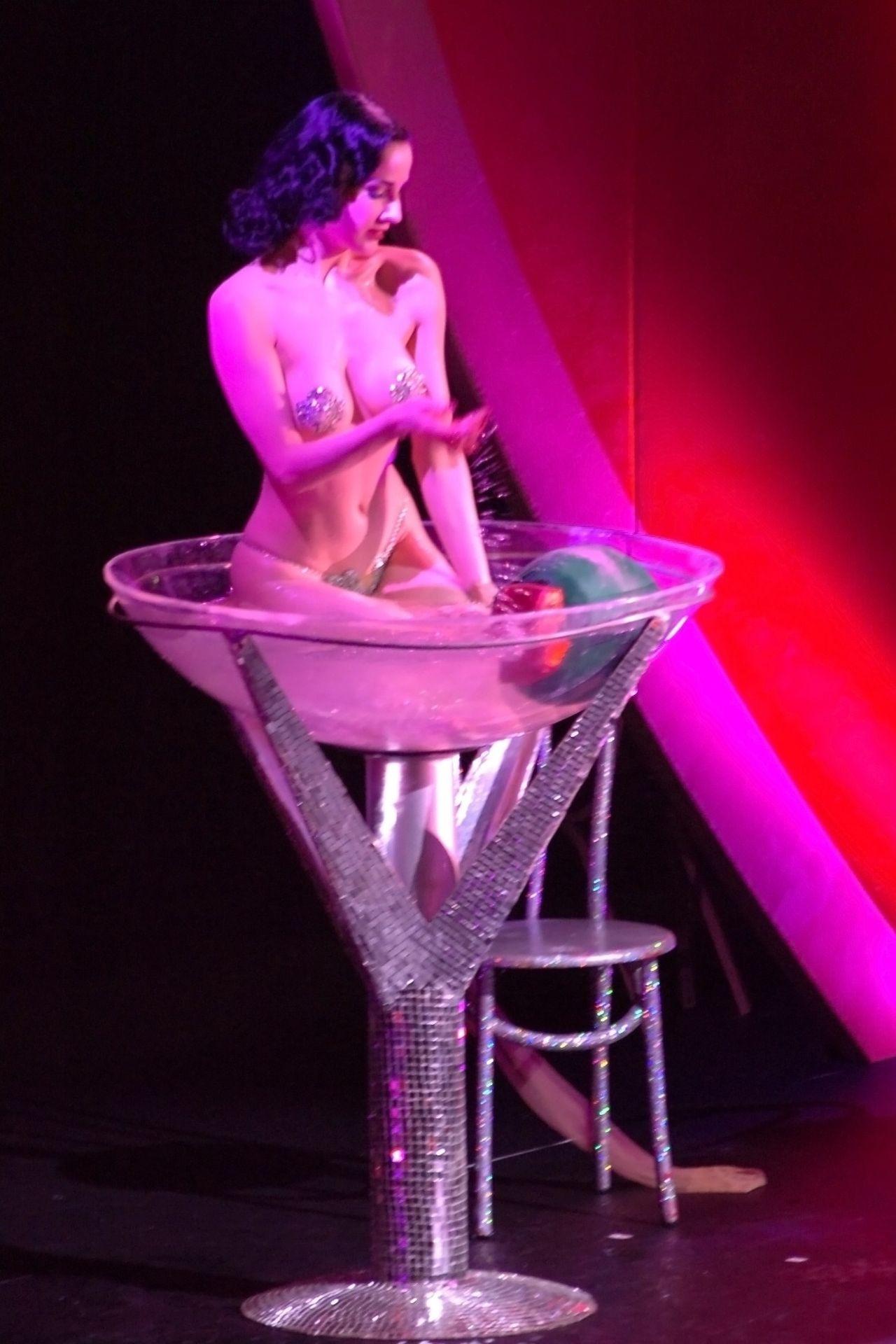 Dita Von Teese Performs At Erotica 06 In London 0027