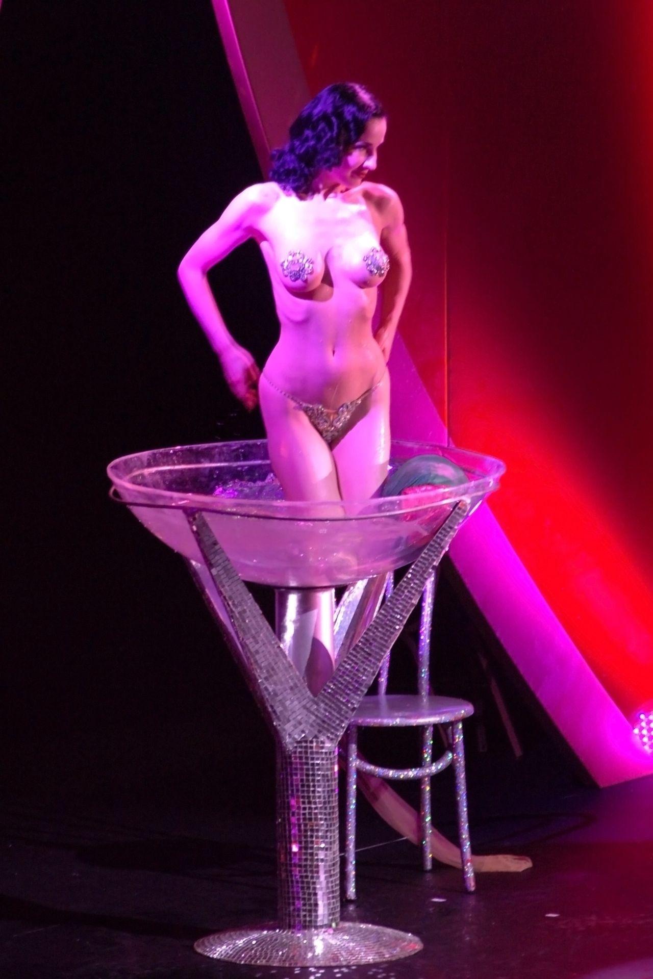 Dita Von Teese Performs At Erotica 06 In London 0029