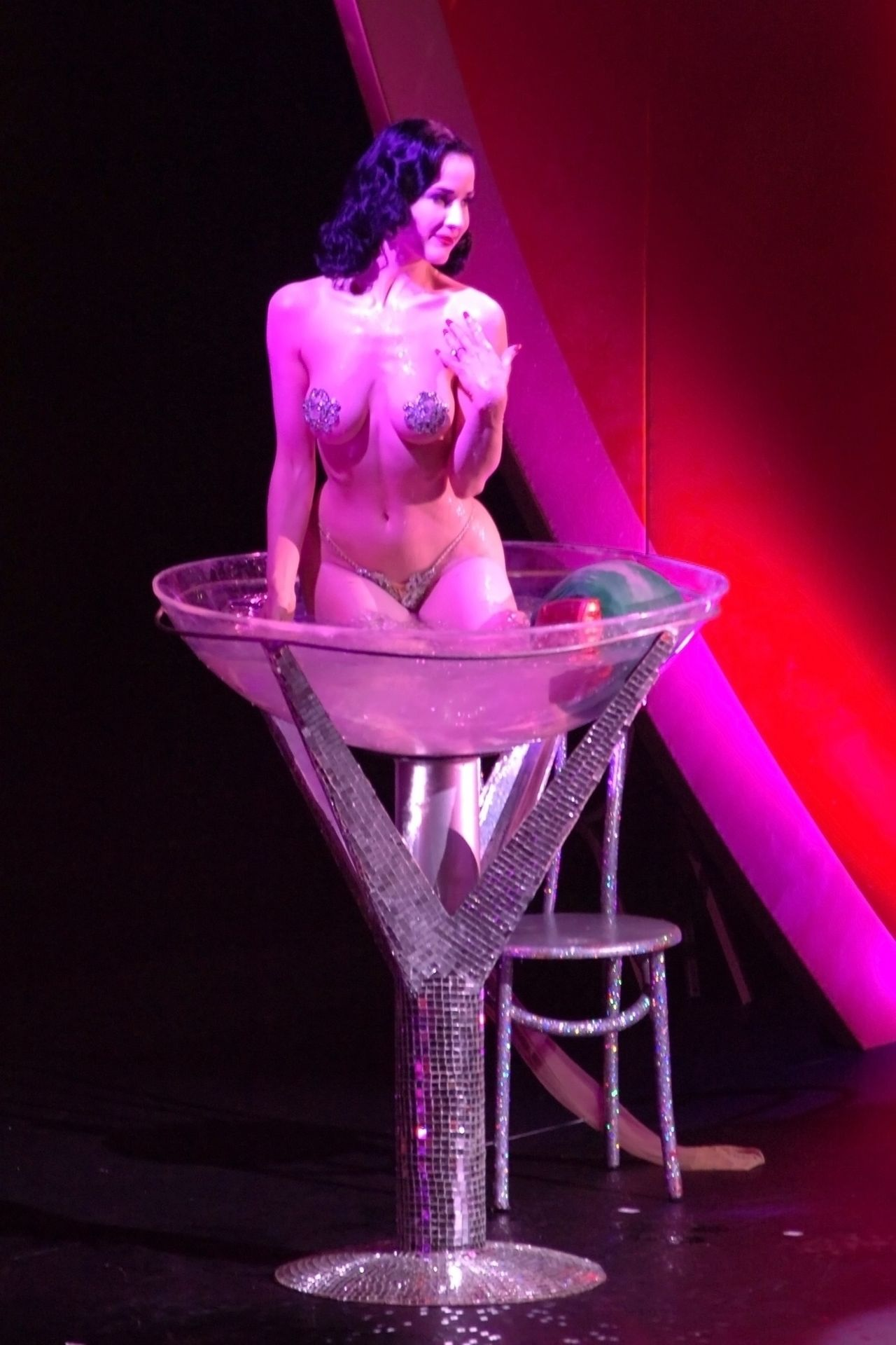 Dita Von Teese Performs At Erotica 06 In London 0033
