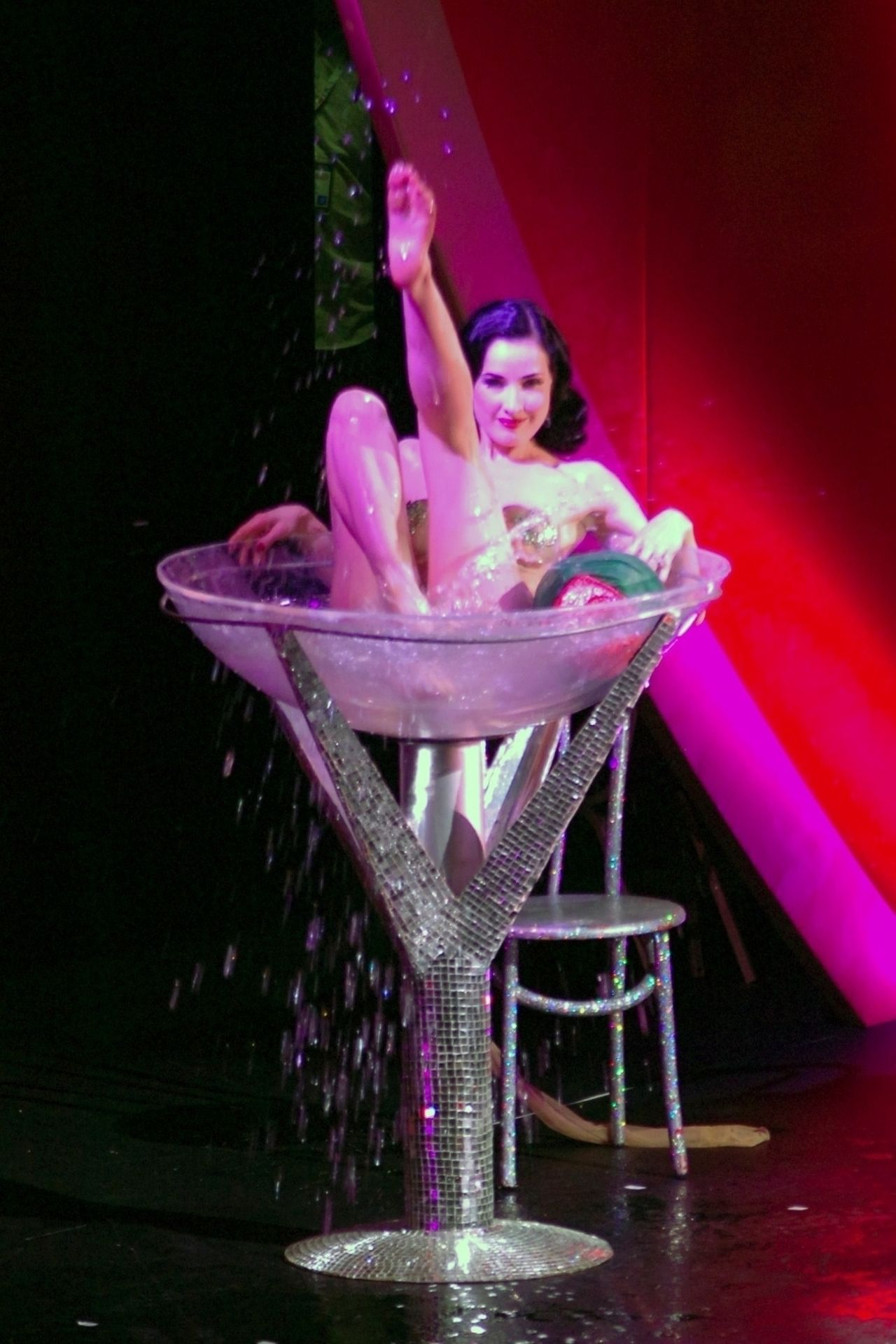 Dita Von Teese Performs At Erotica 06 In London 0039