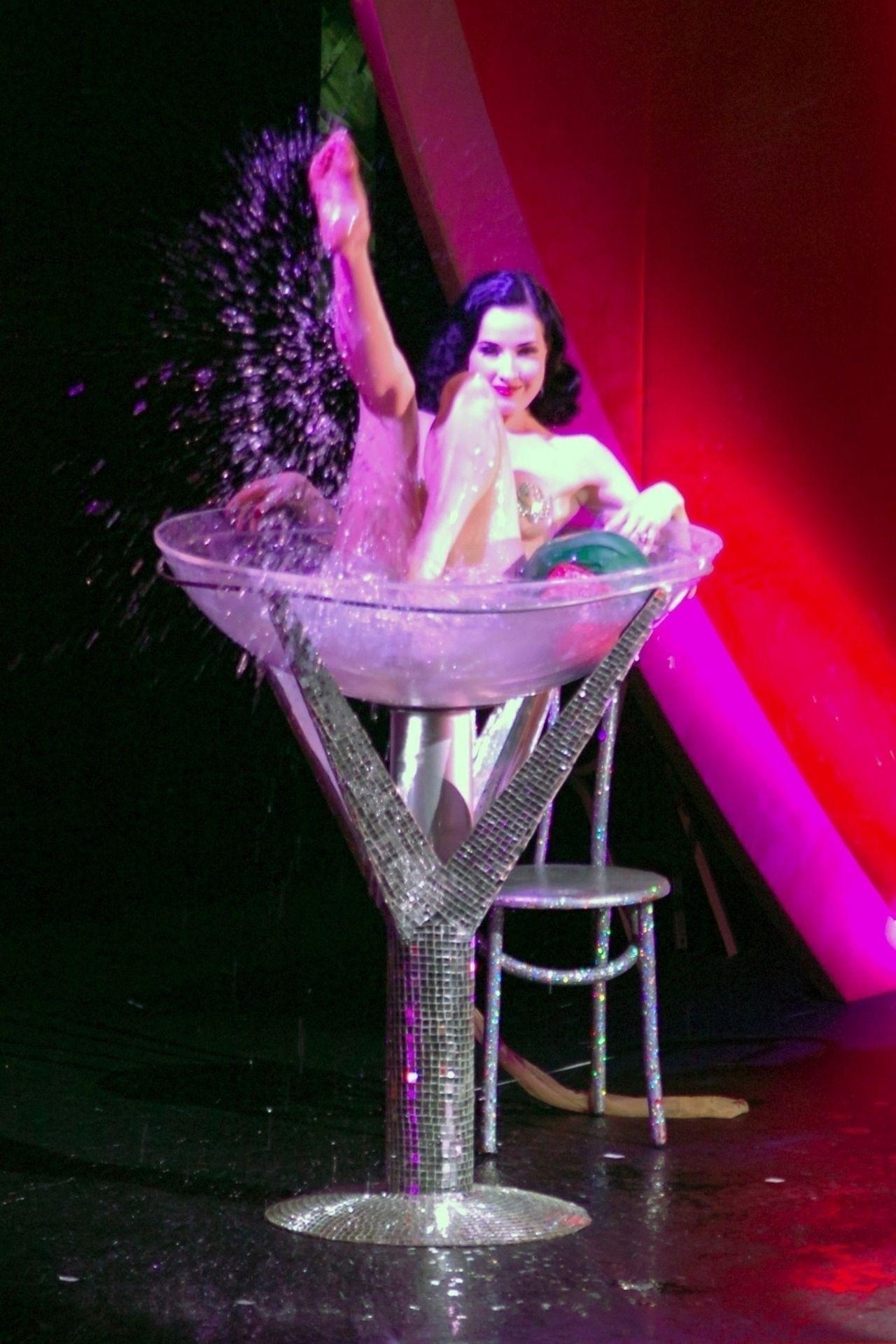 Dita Von Teese Performs At Erotica 06 In London 0040