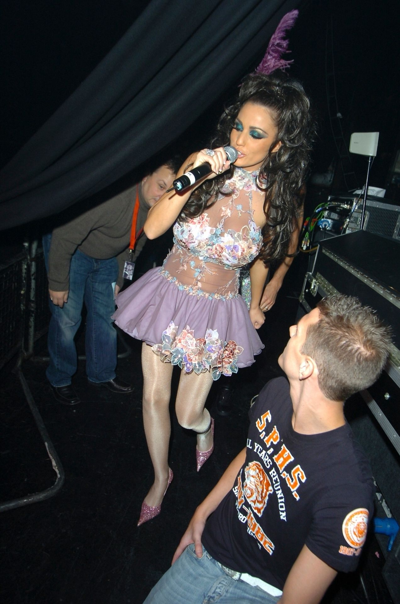 Katie Price & Peter Andre Perform At Gay Astoria In London 0008