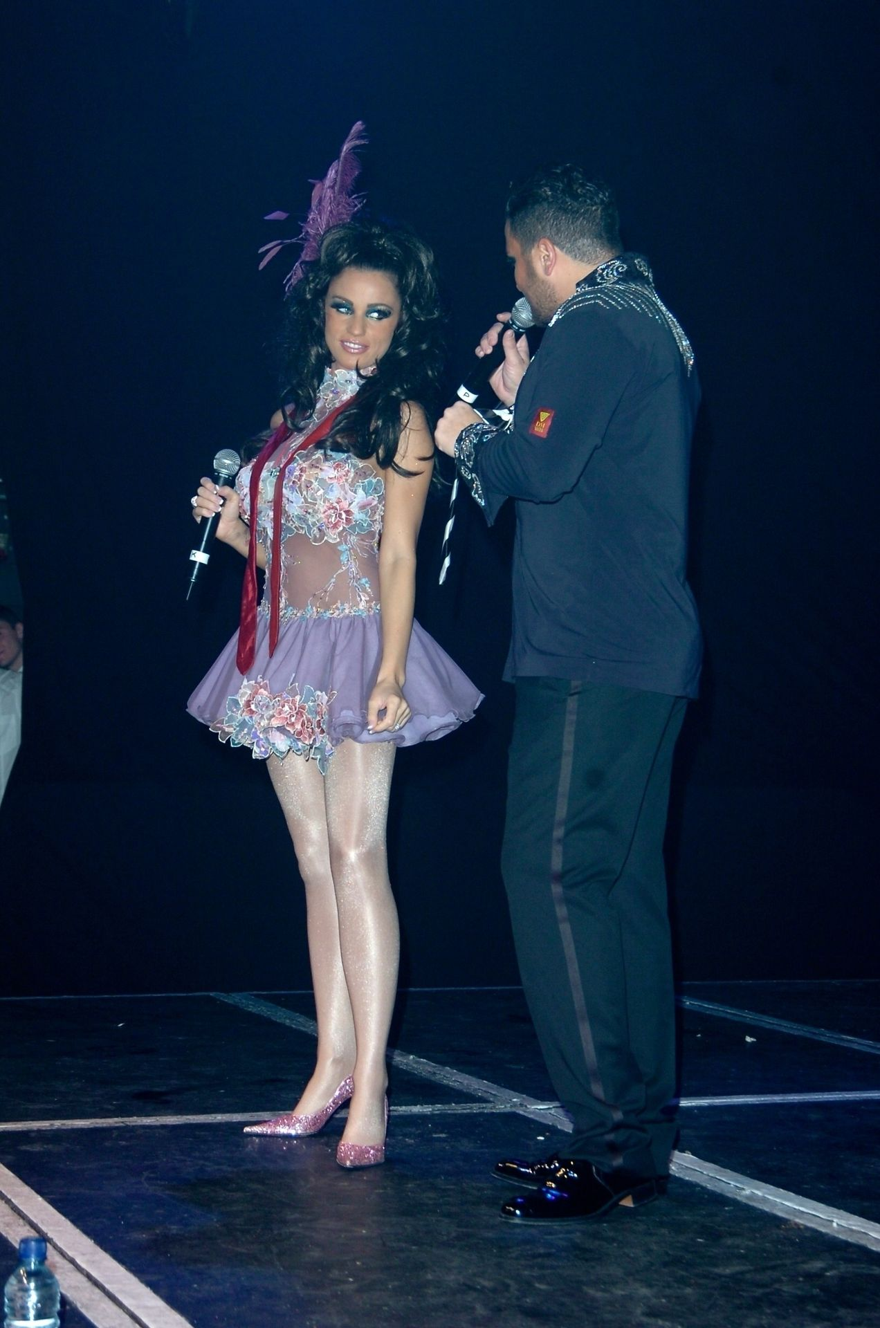 Katie Price & Peter Andre Perform At Gay Astoria In London 0014