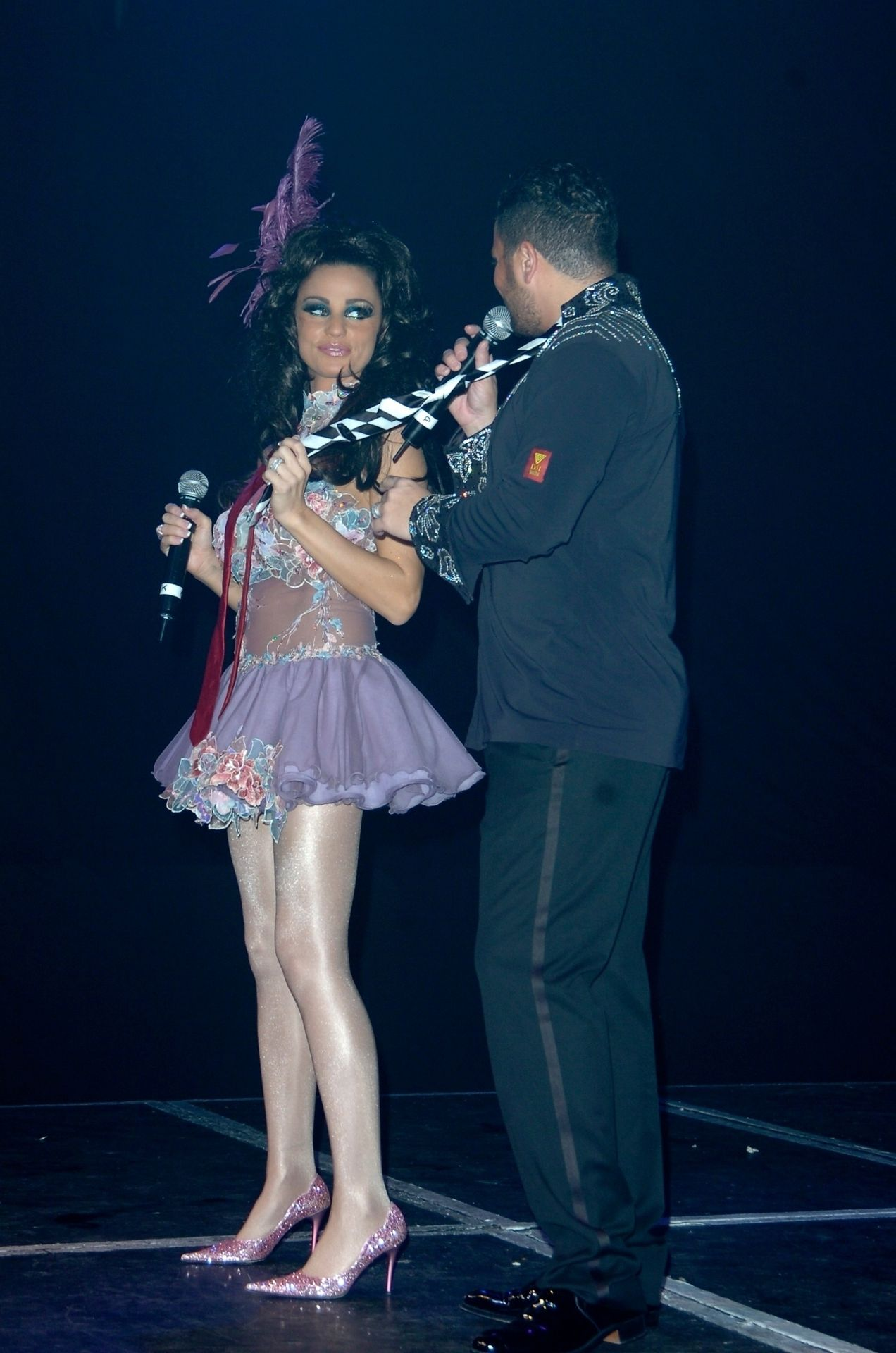Katie Price & Peter Andre Perform At Gay Astoria In London 0015