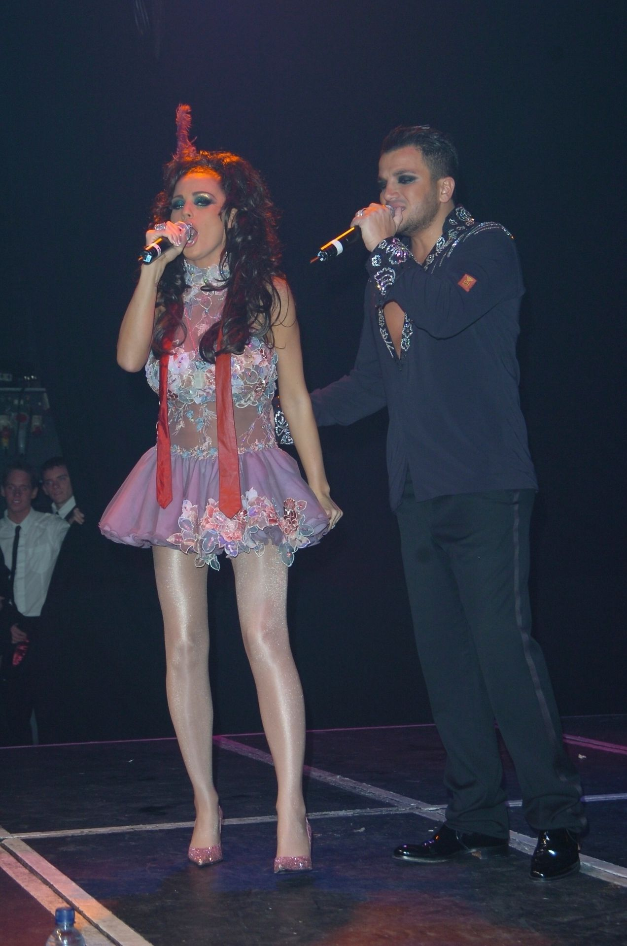 Katie Price & Peter Andre Perform At Gay Astoria In London 0019