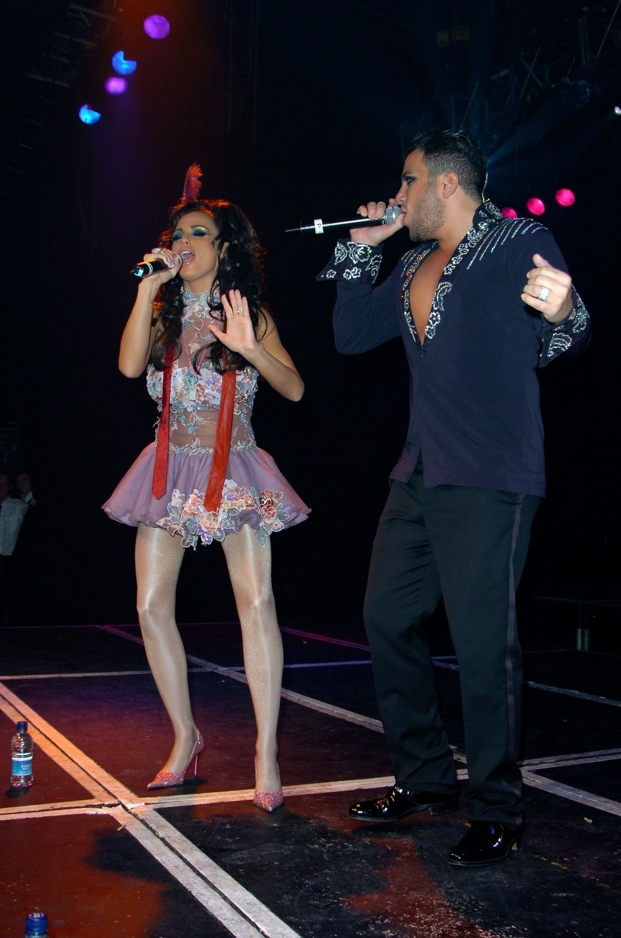 Katie Price & Peter Andre Perform At Gay Astoria In London 0020