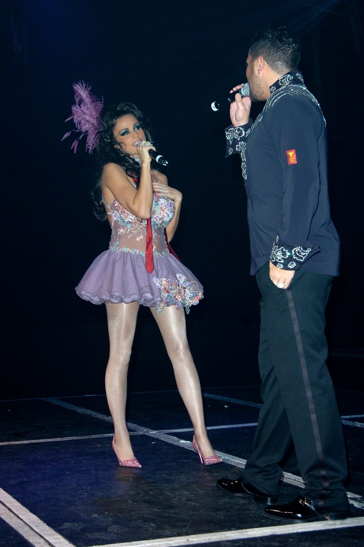 Katie Price & Peter Andre Perform At Gay Astoria In London 0022
