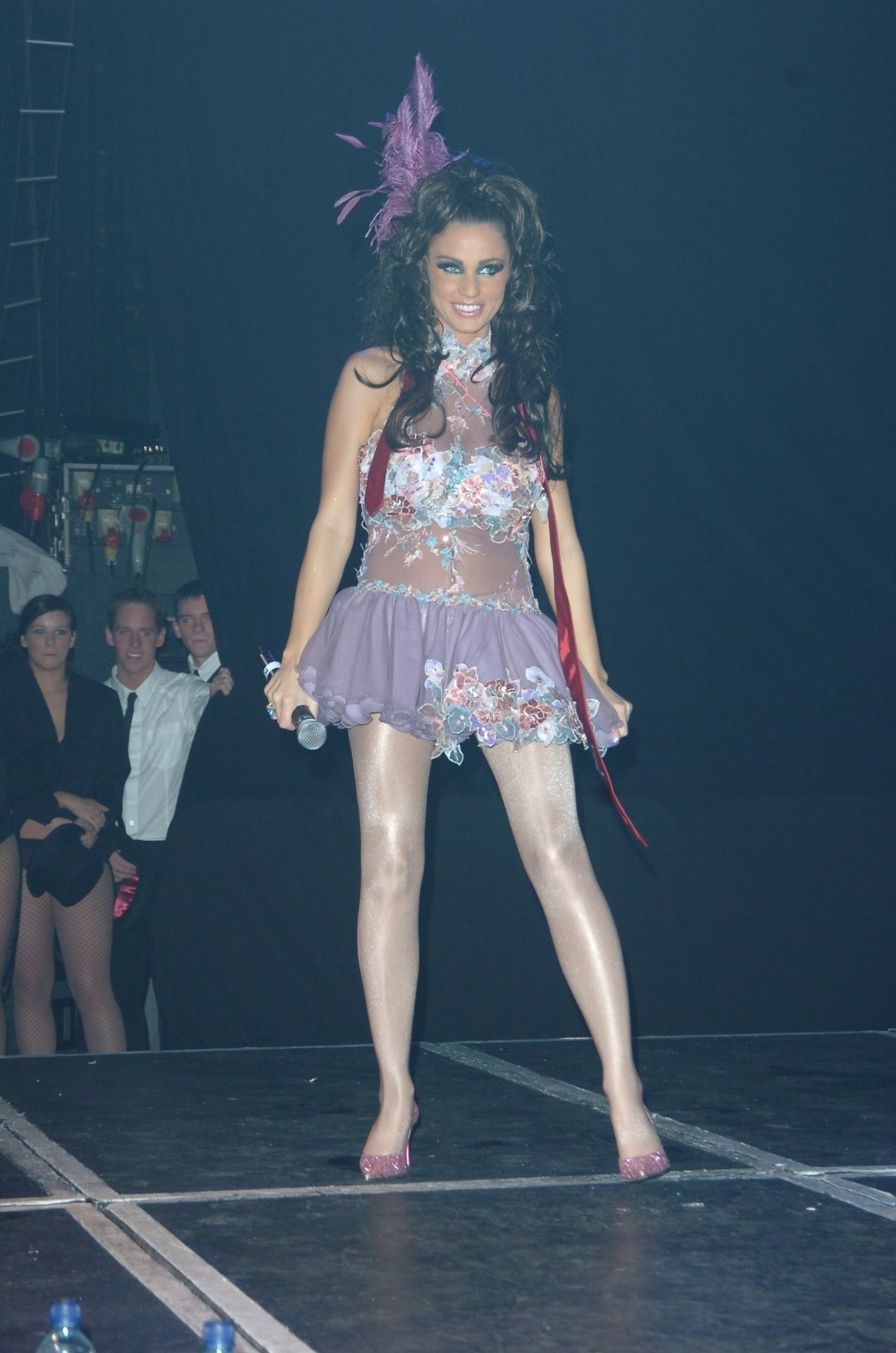 Katie Price & Peter Andre Perform At Gay Astoria In London 0025