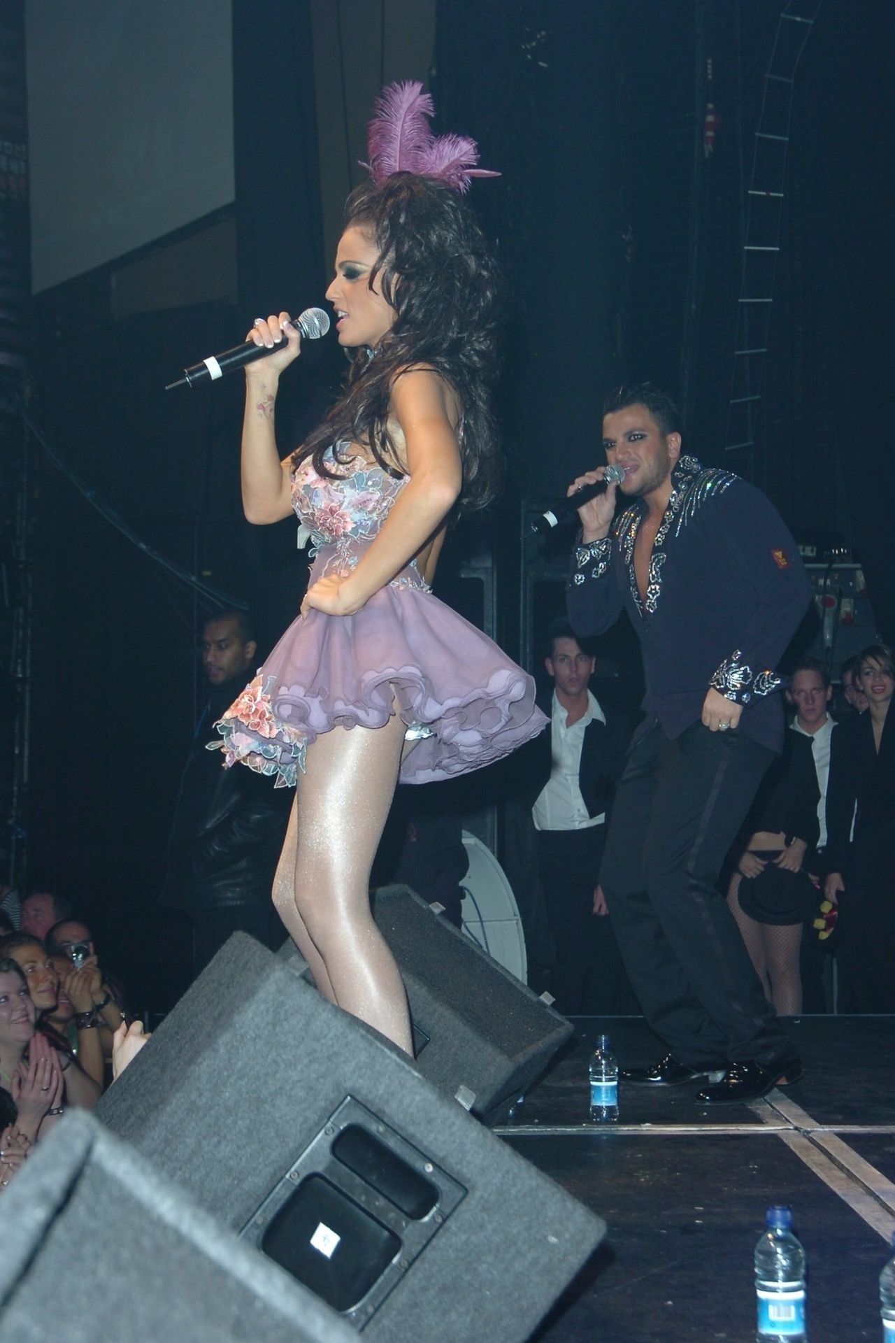 Katie Price & Peter Andre Perform At Gay Astoria In London 0026