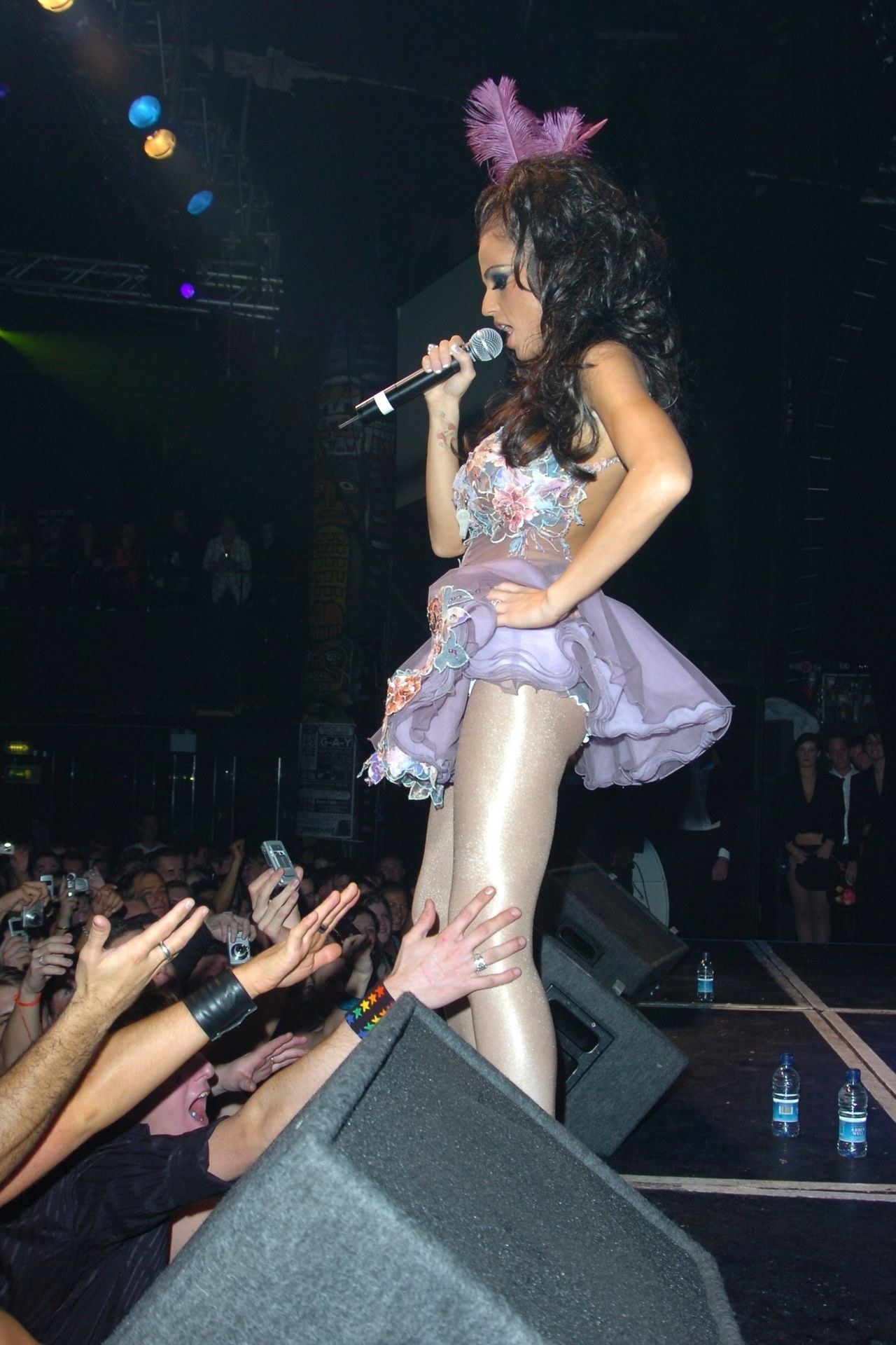 Katie Price & Peter Andre Perform At Gay Astoria In London 0027
