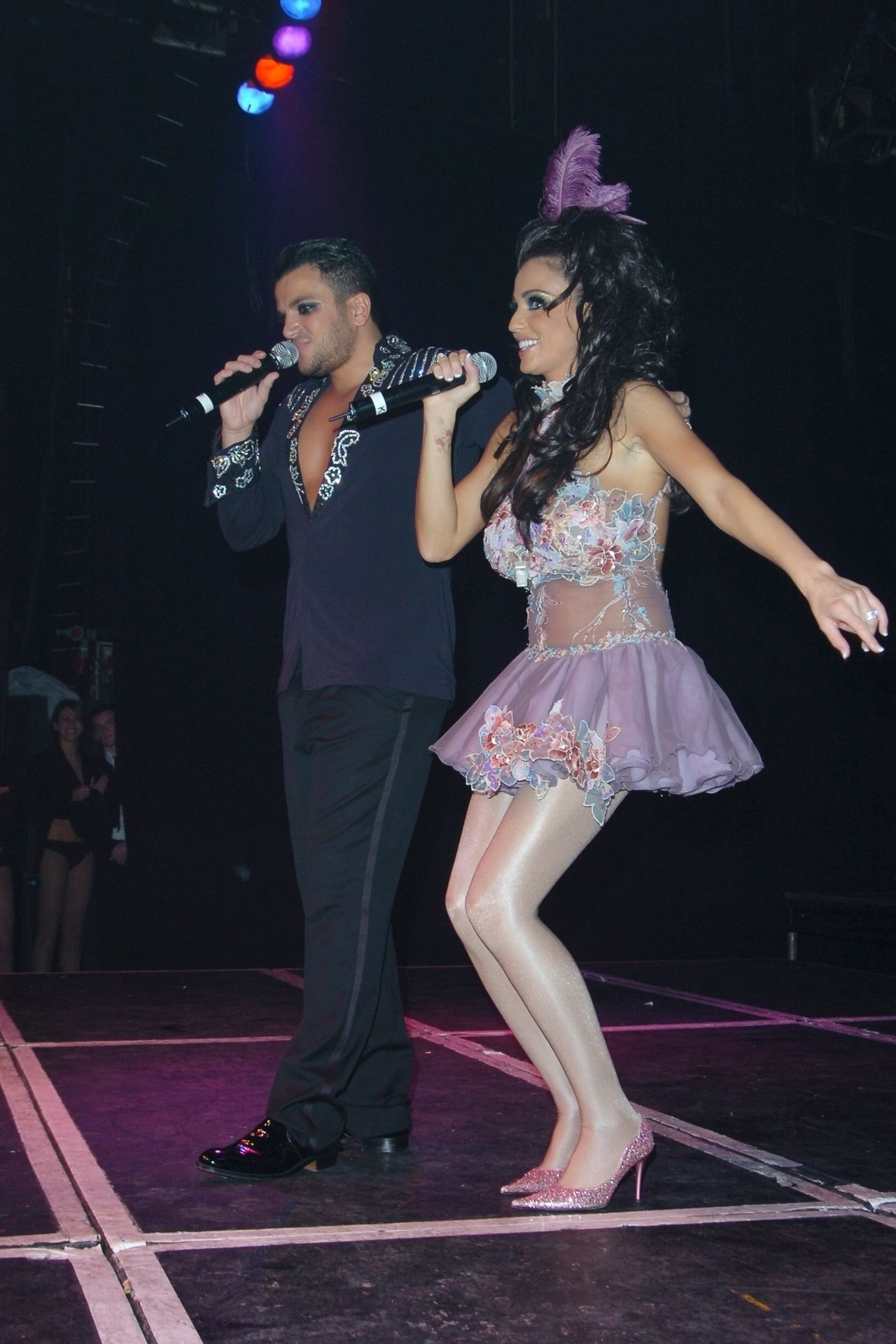 Katie Price & Peter Andre Perform At Gay Astoria In London 0033