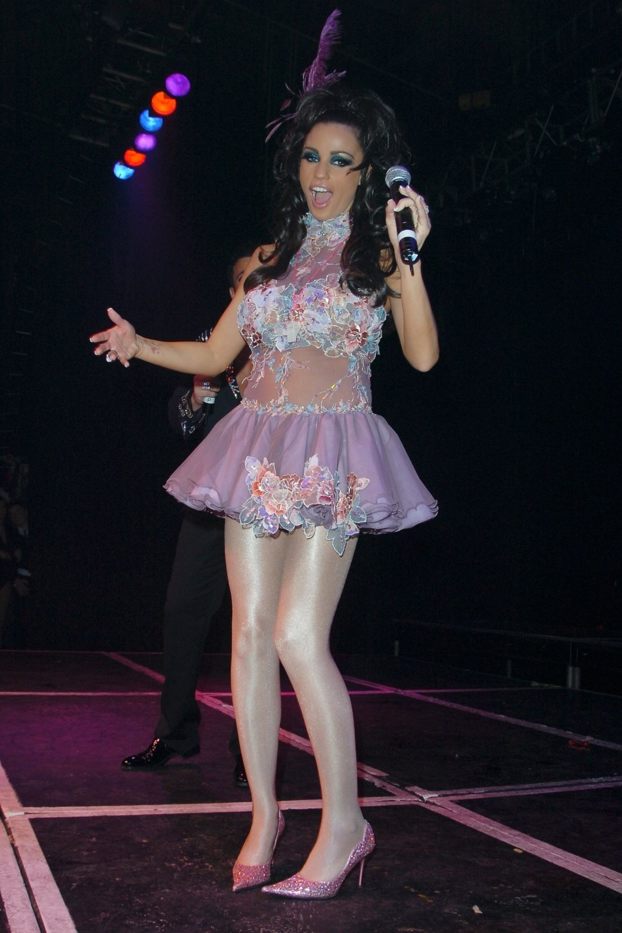 Katie Price & Peter Andre Perform At Gay Astoria In London 0034