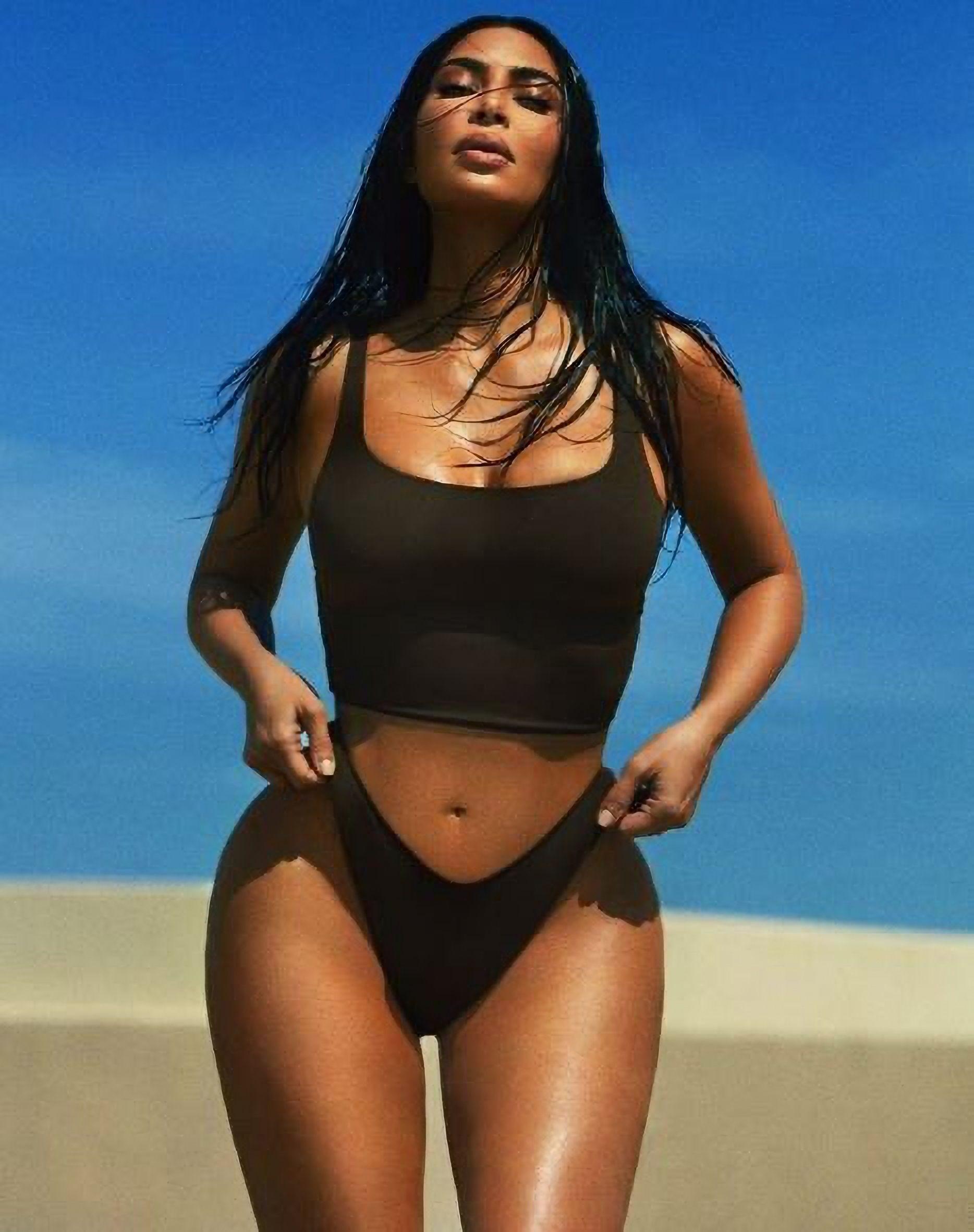 Kim Kardashian Unveils New Skim Collection 0002