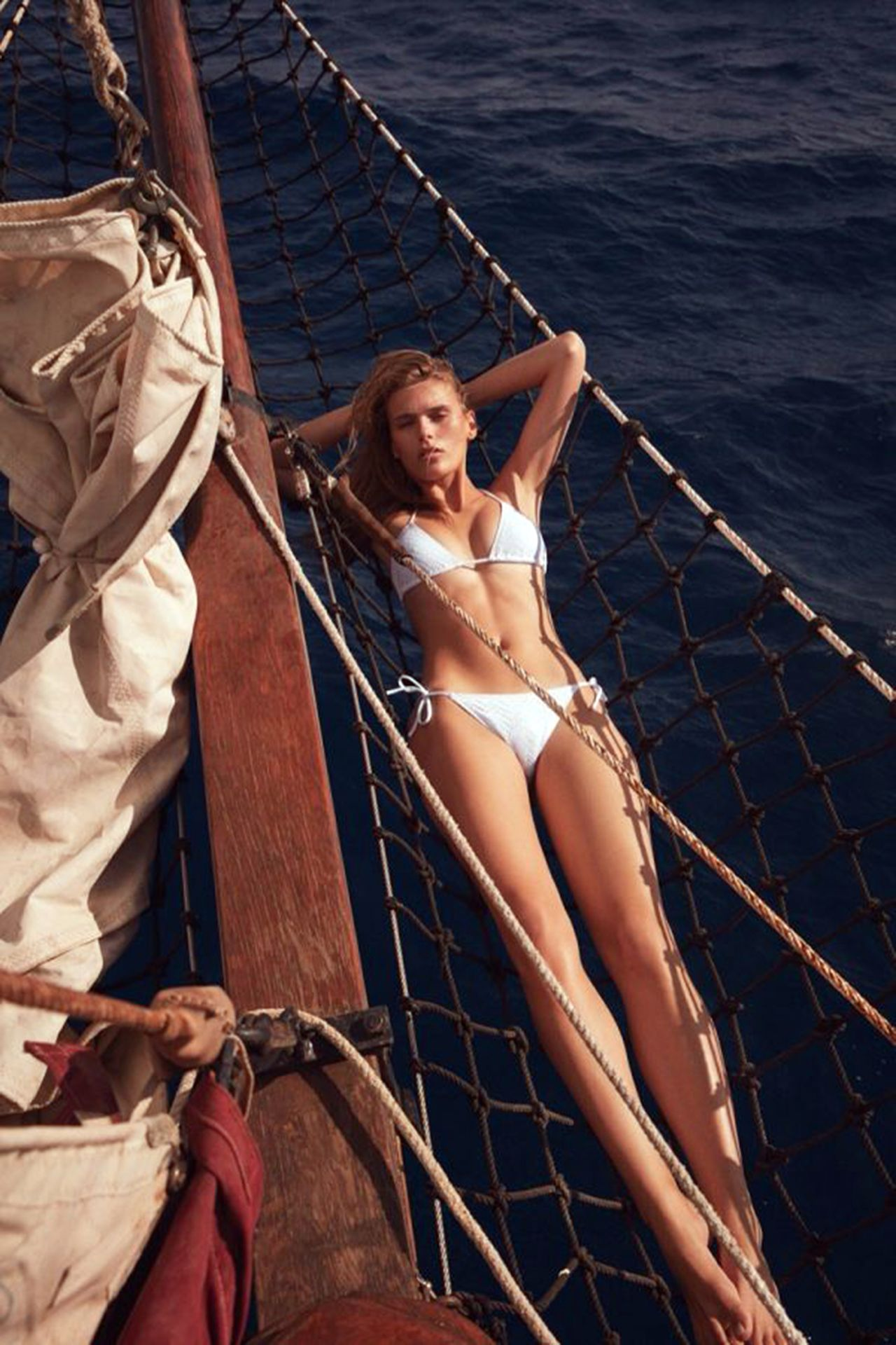 Madison Headrick Is In The Campaign Of The French Swimwear Brand Eres 0001