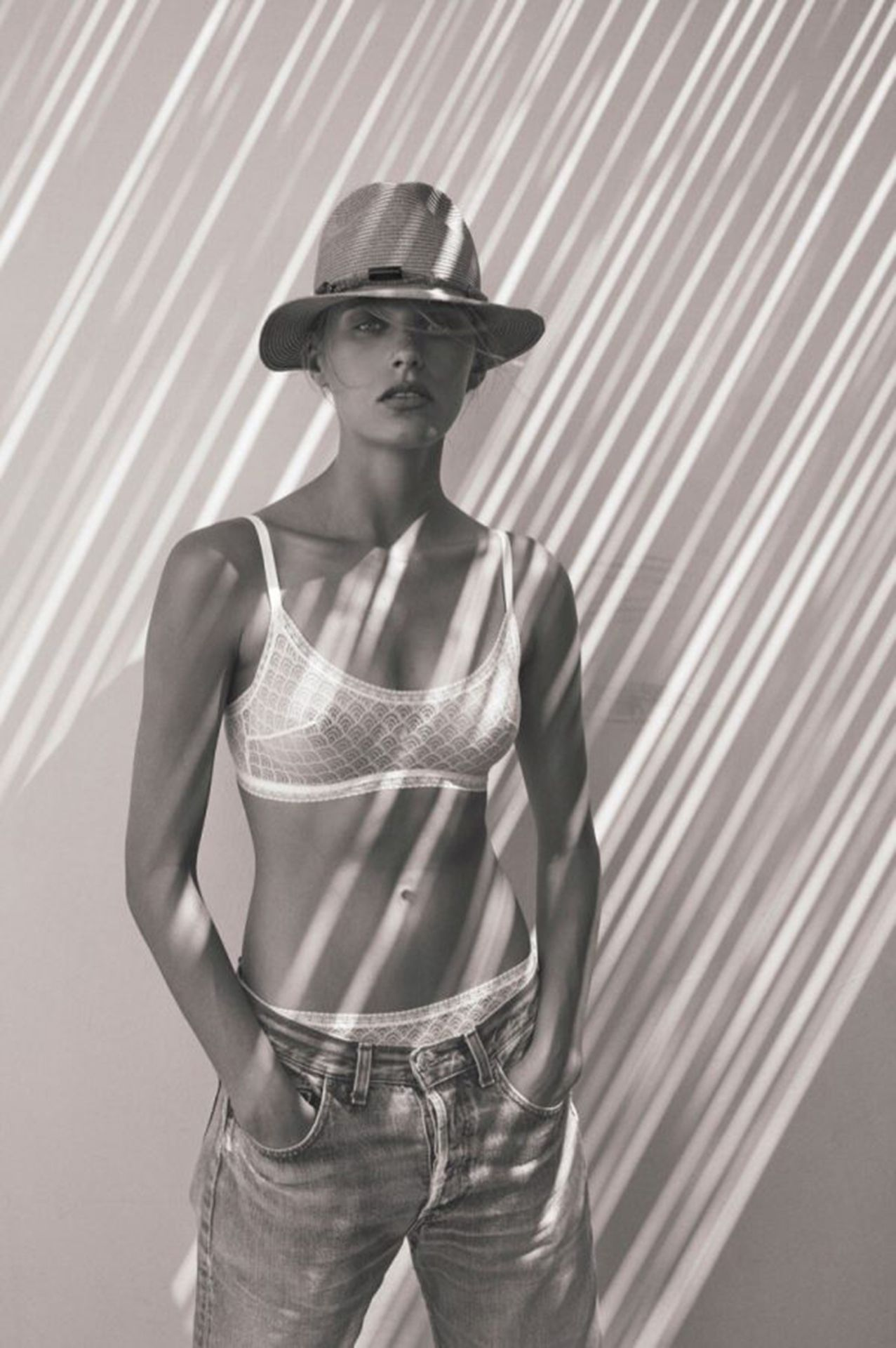 Madison Headrick Is In The Campaign Of The French Swimwear Brand Eres 0002