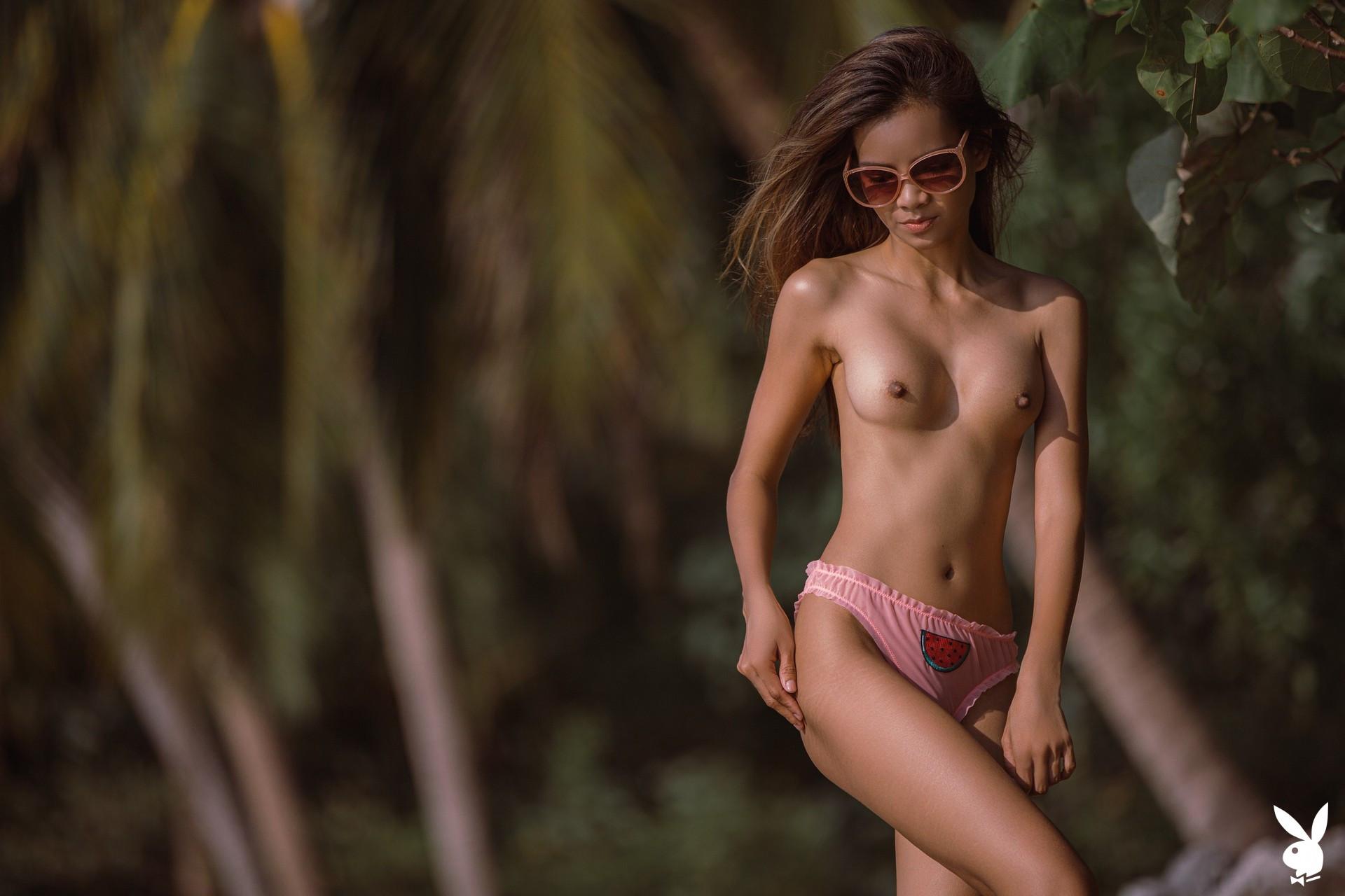 Maya Myra In Island Breeze Playboy Plus (10)