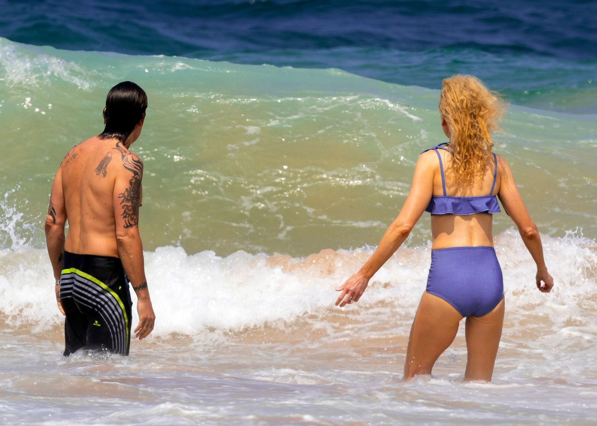 Nicole Kidman Hits The Beach While In Sydney With Her Family 0009