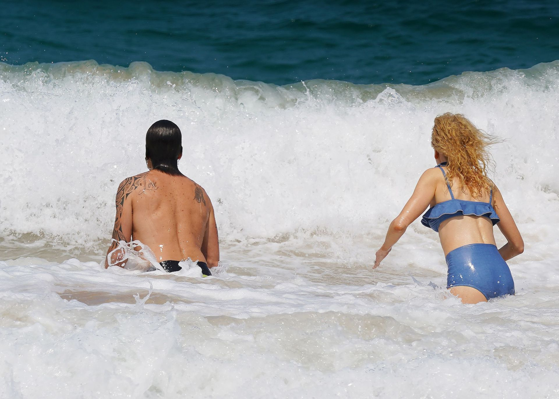 Nicole Kidman Hits The Beach While In Sydney With Her Family 0010